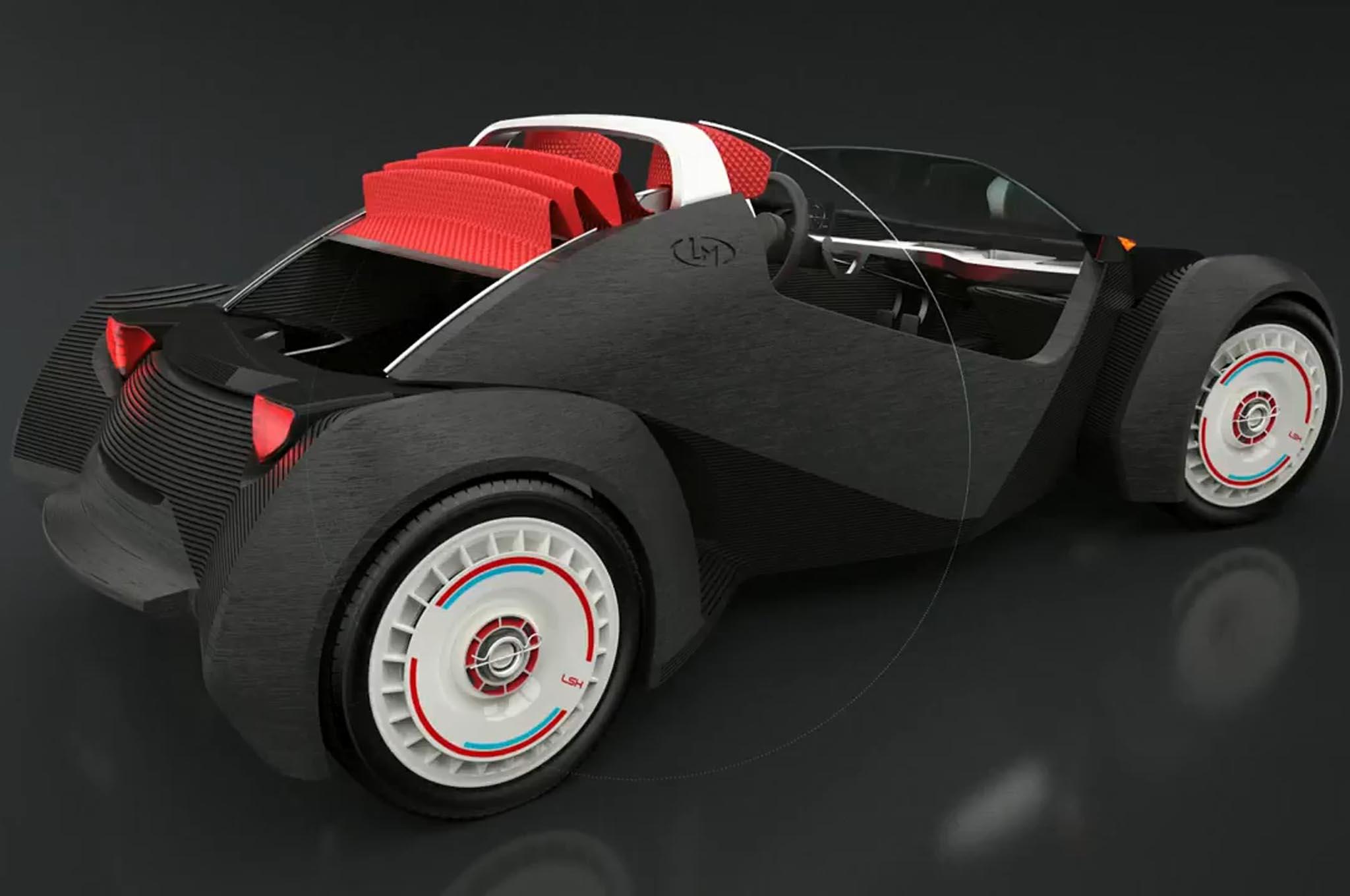 Local motors 3d prints a working electric car for Local motors 3d printed car