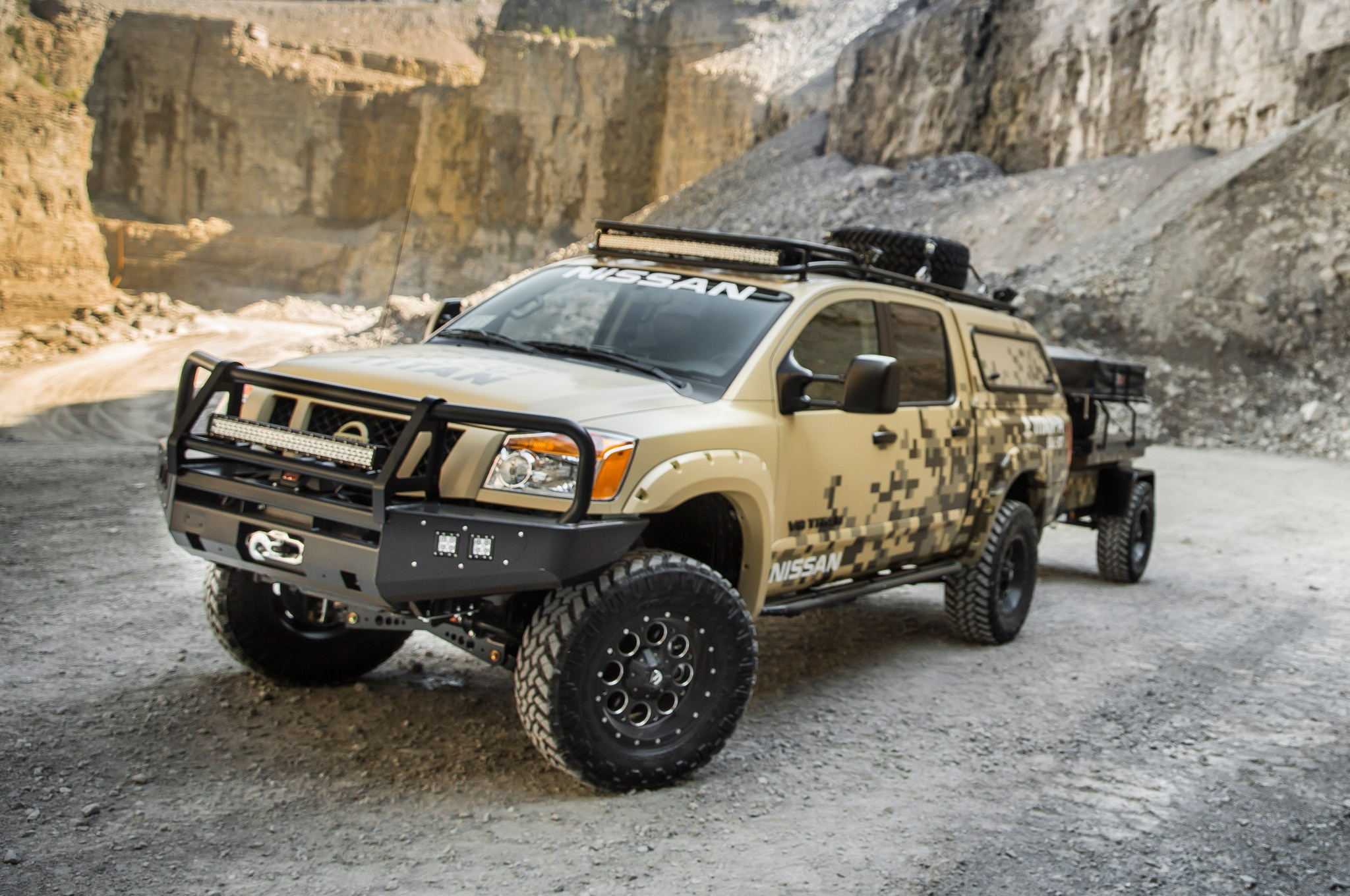 Nissan project titan ready to tackle alaska the vanachro Gallery