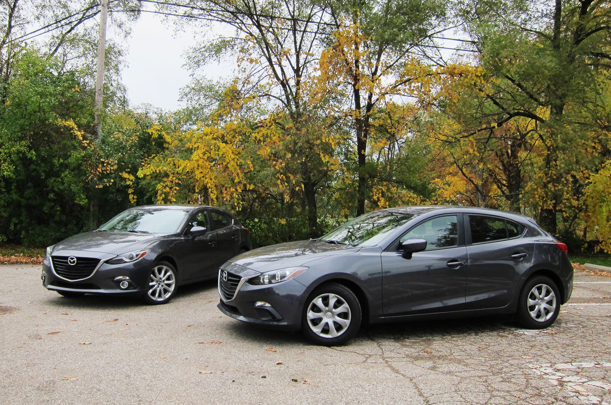 2014 Mazda 3 S Touring Getting Noticed