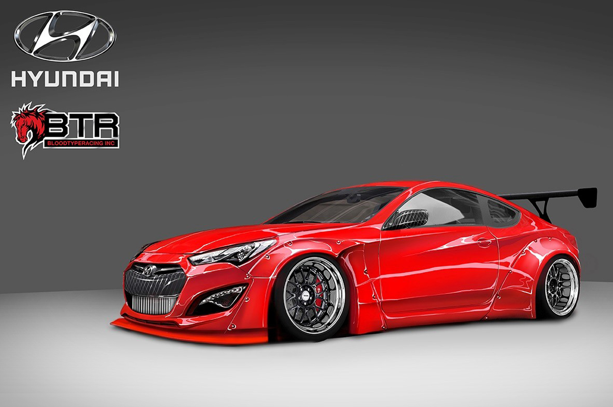 tuned 2014 hyundai genesis coupe comes to sema with 800 hp. Black Bedroom Furniture Sets. Home Design Ideas