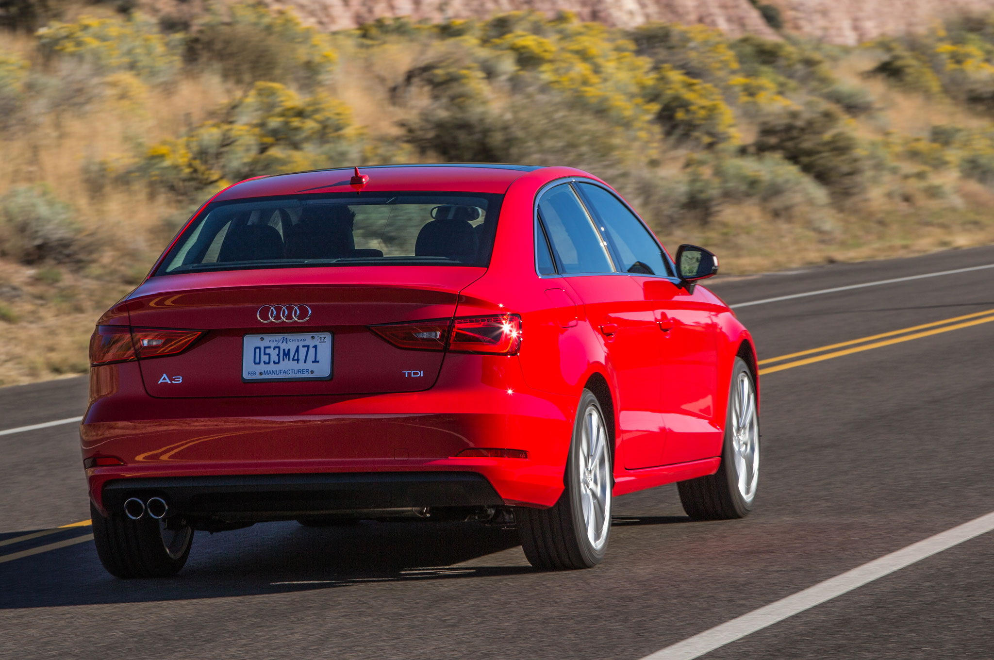 Hypermiling on the 2015 Audi A3 TDI Challenge