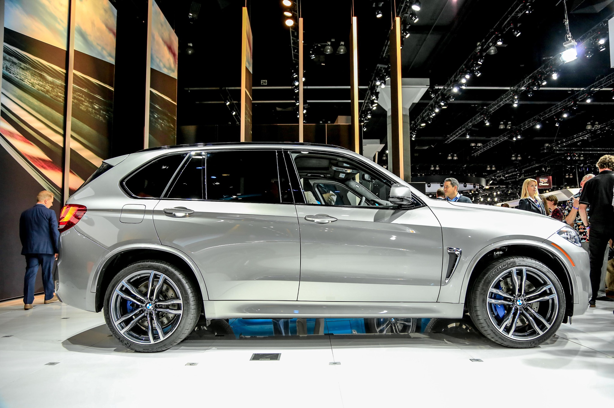 2015 BMW X5 M Side Profile