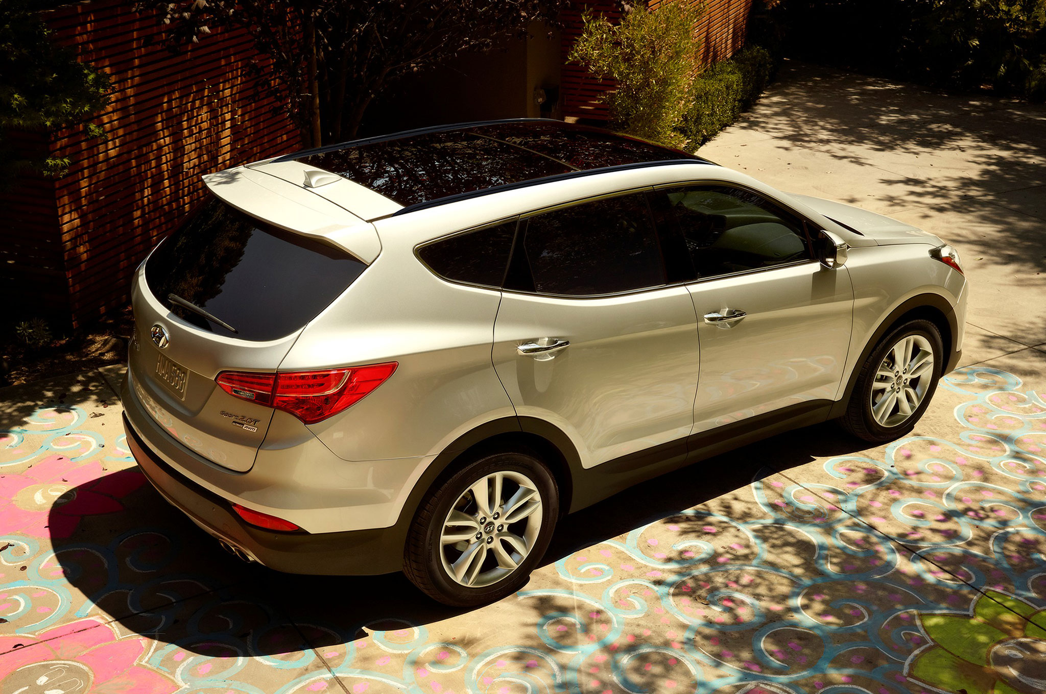 The 2015 hyundai santa fe