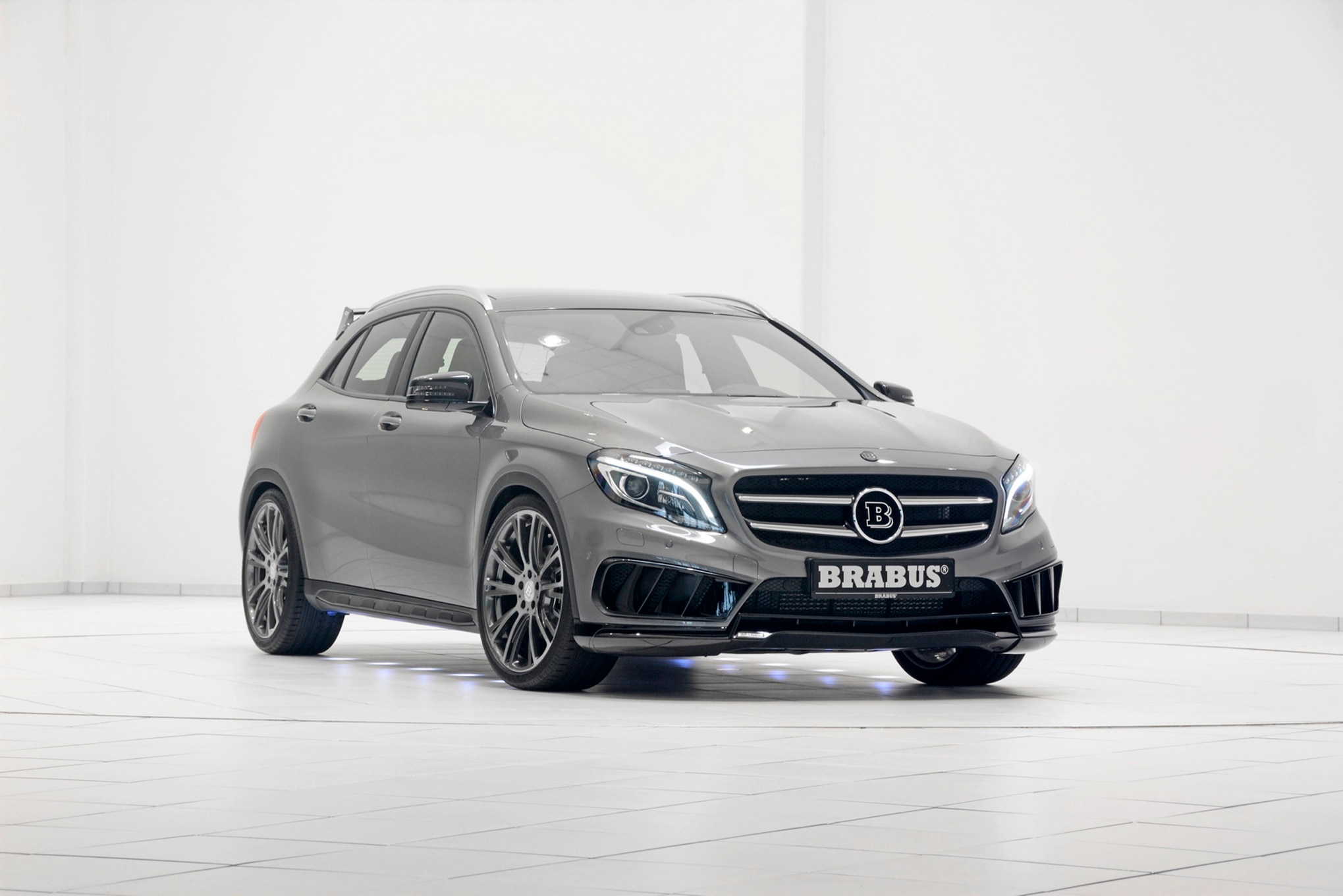 Brabus tunes 2015 mercedes benz gla45 amg to 394 hp for Mercedes benz brabus amg