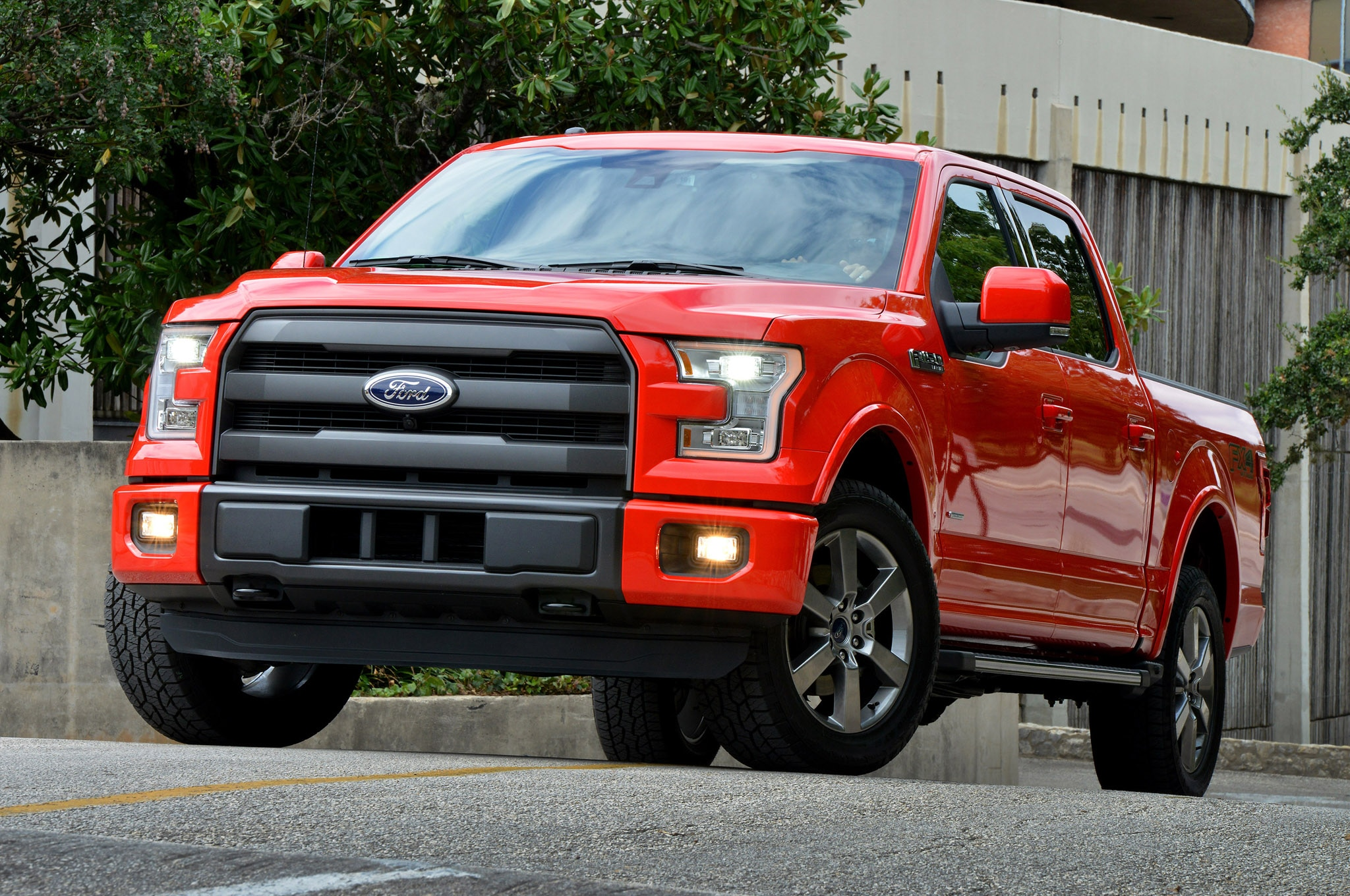 2015 Ford F 150 09 Front Three Quarter1