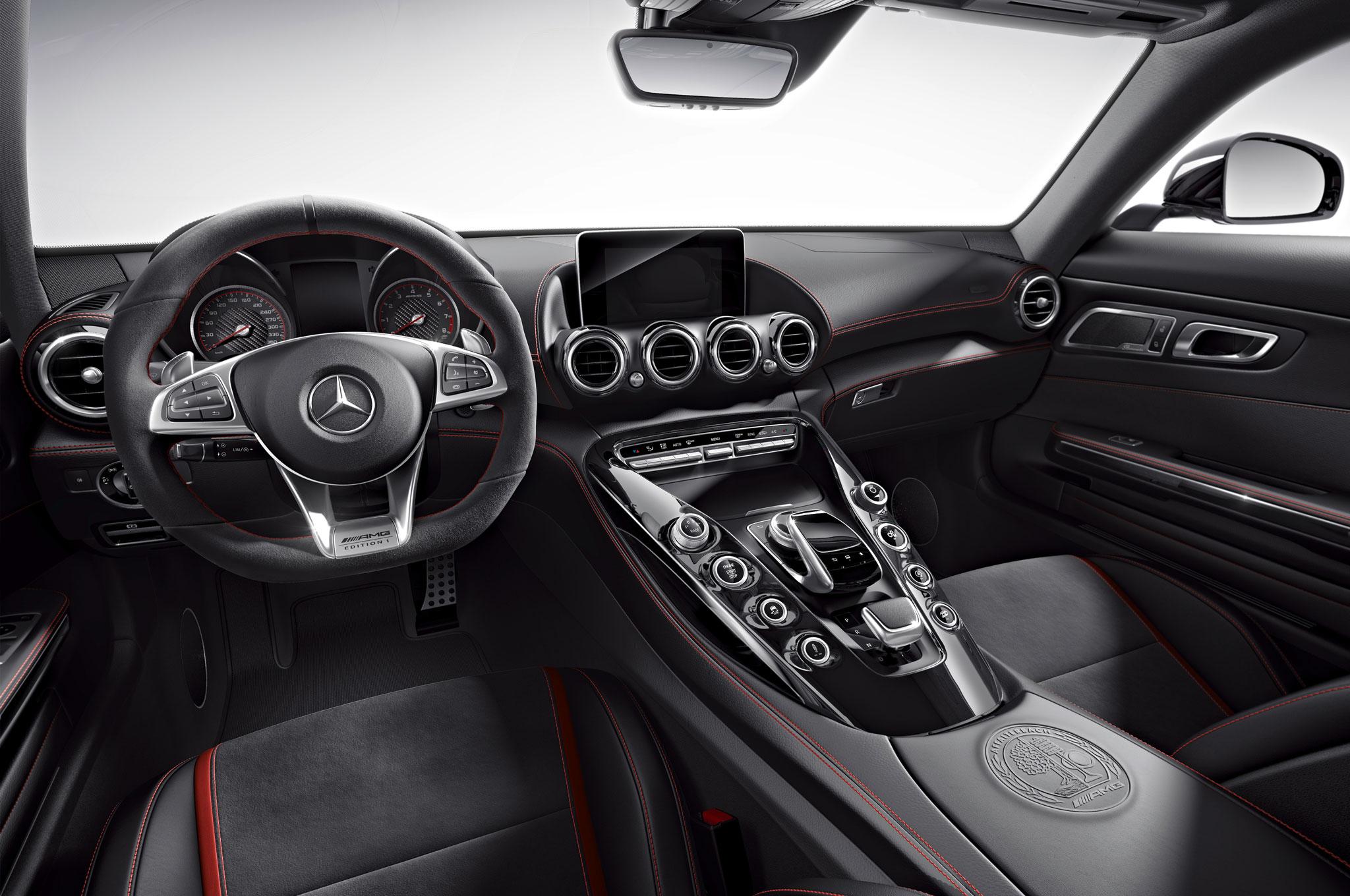 2016 Mercedes-AMG GT Kicks Off with Edition 1 Model | {Auto cockpit mercedes 67}