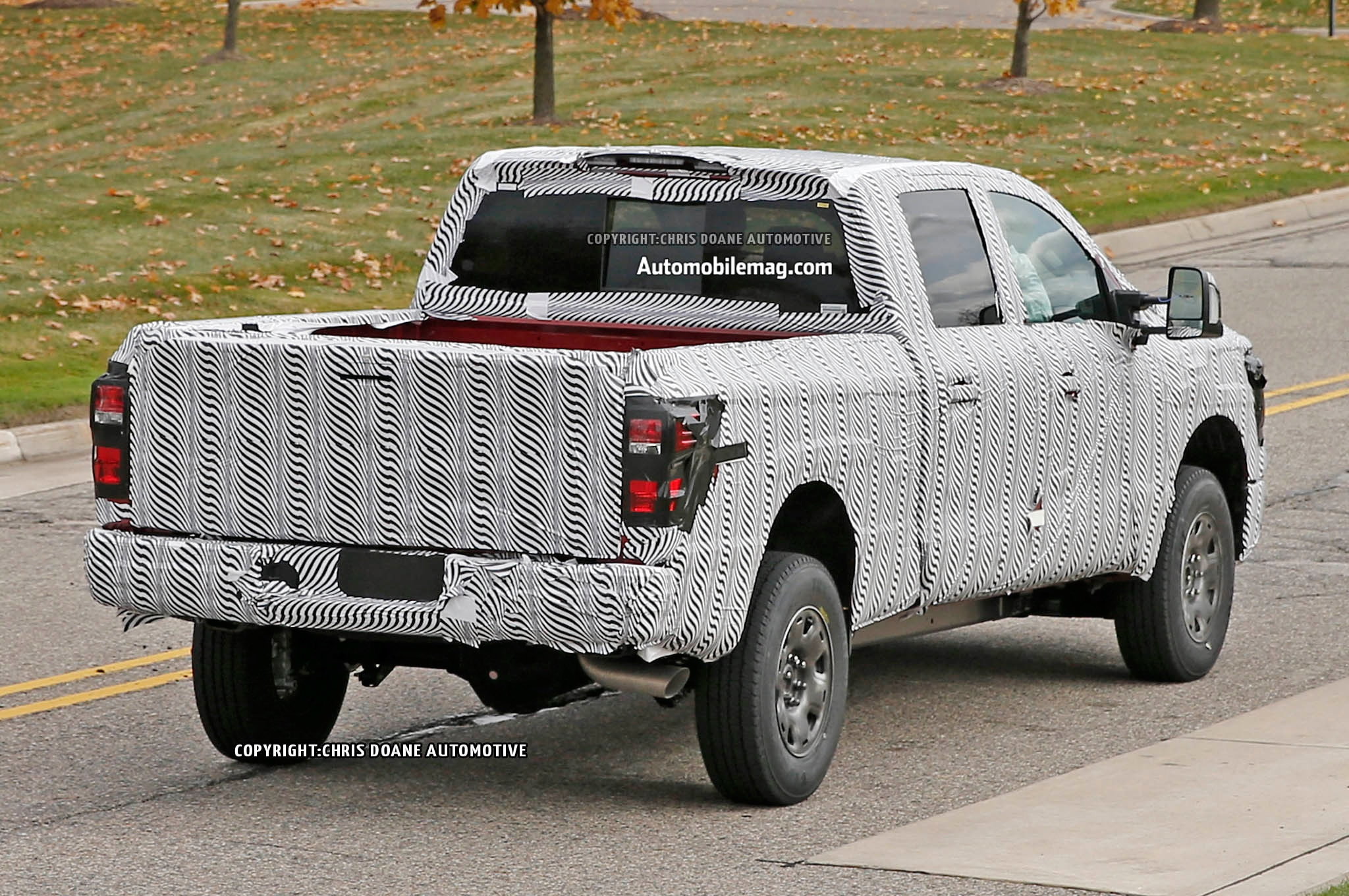2016 nissan titan pickup spied testing half ton vanachro Gallery