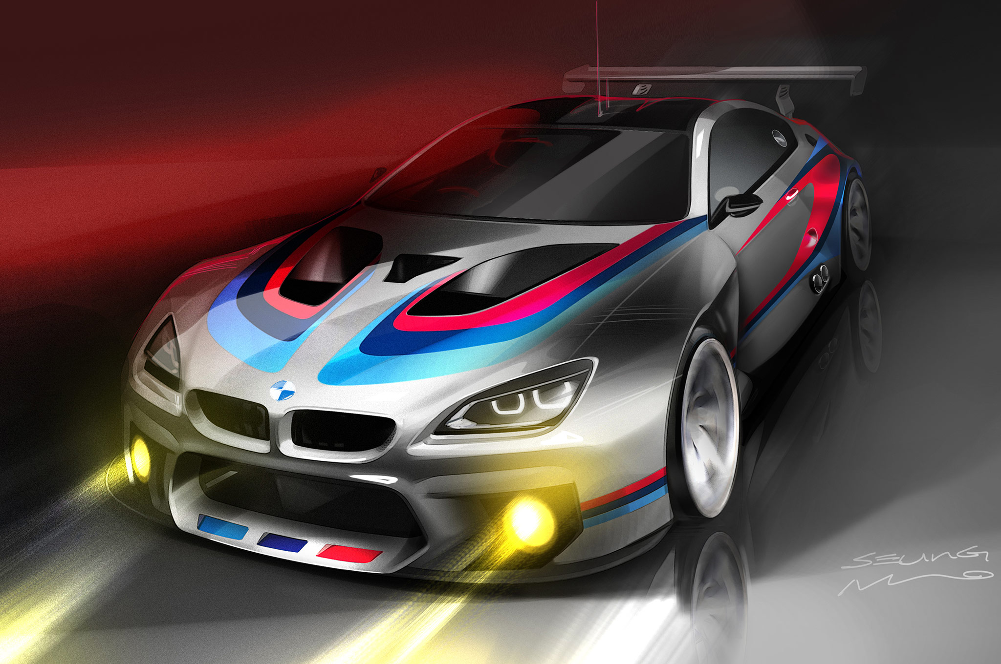Previews M6 GT3 Racing Car