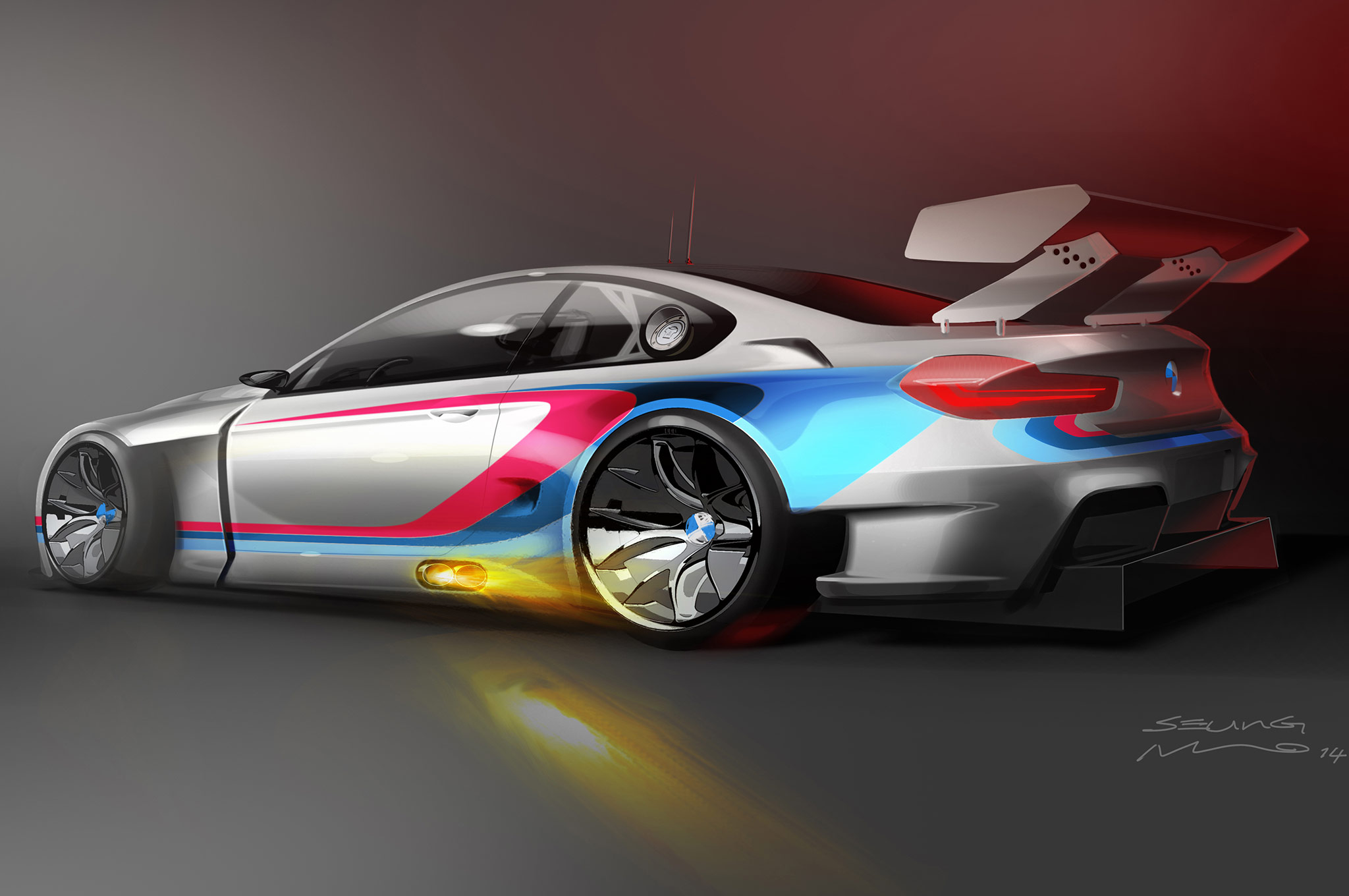 Bmw Previews M6 Gt3 Racing Car