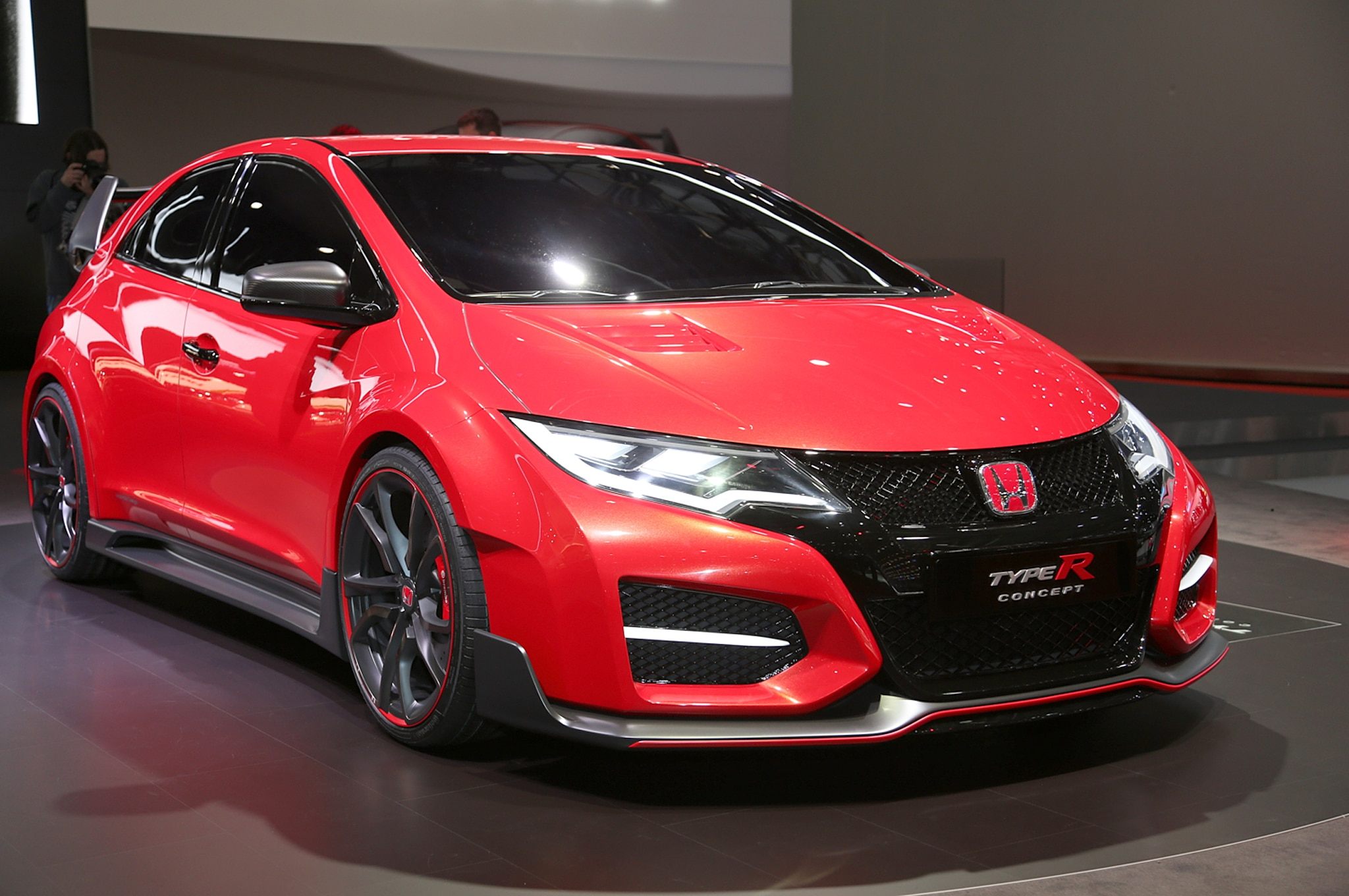 must watch new interactive honda civic type r video. Black Bedroom Furniture Sets. Home Design Ideas