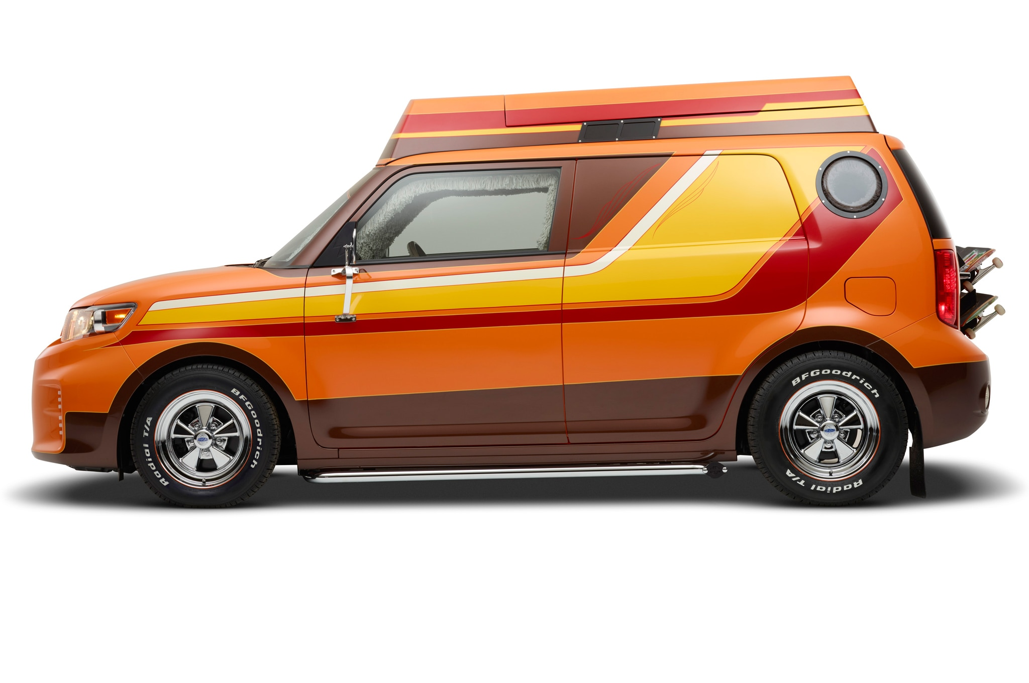 scion sema cars include targa top fr s skateboard themed xb. Black Bedroom Furniture Sets. Home Design Ideas