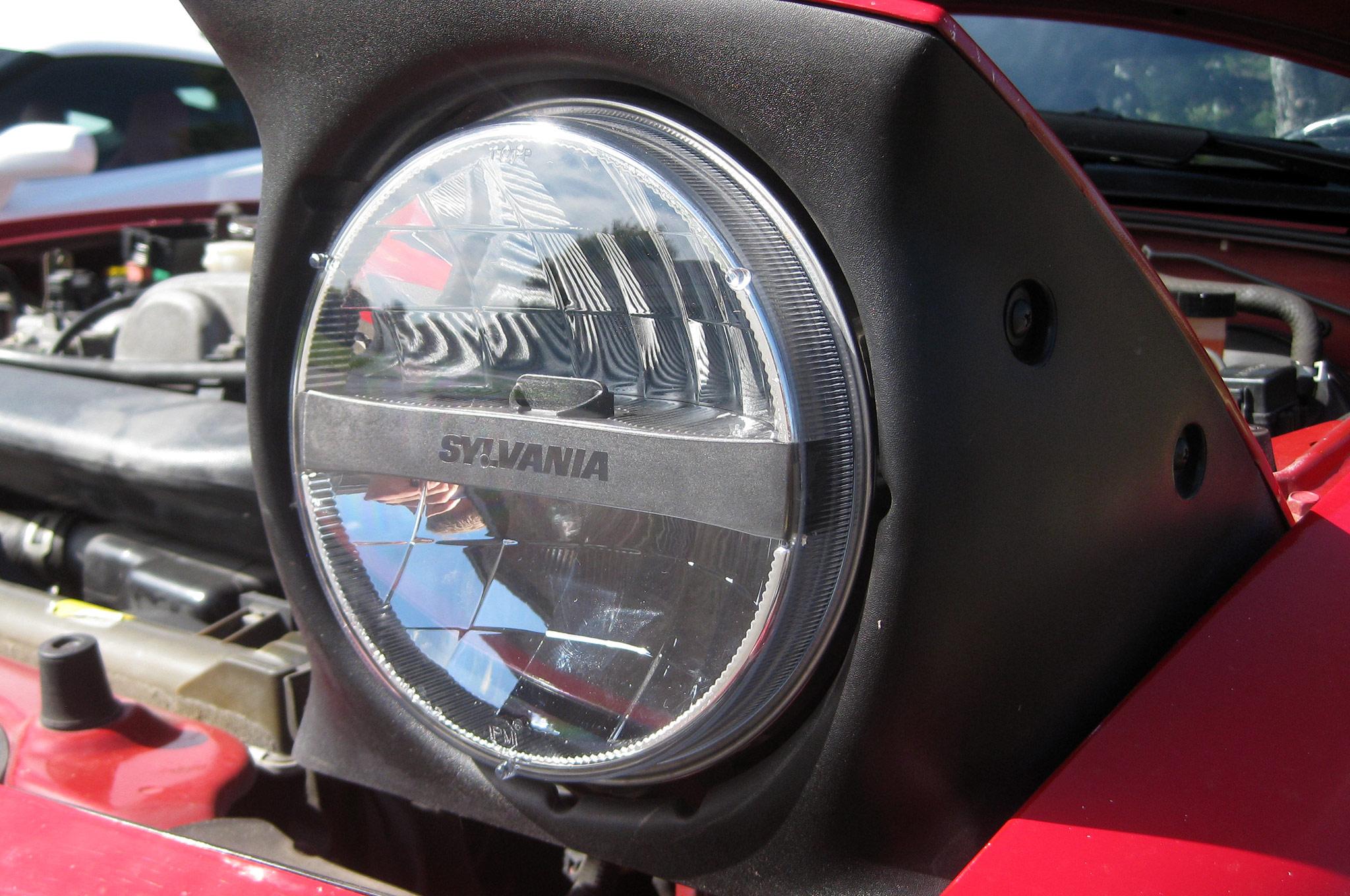 1 4. Gear  Testing Sylvania s ZEVO LED Headlights
