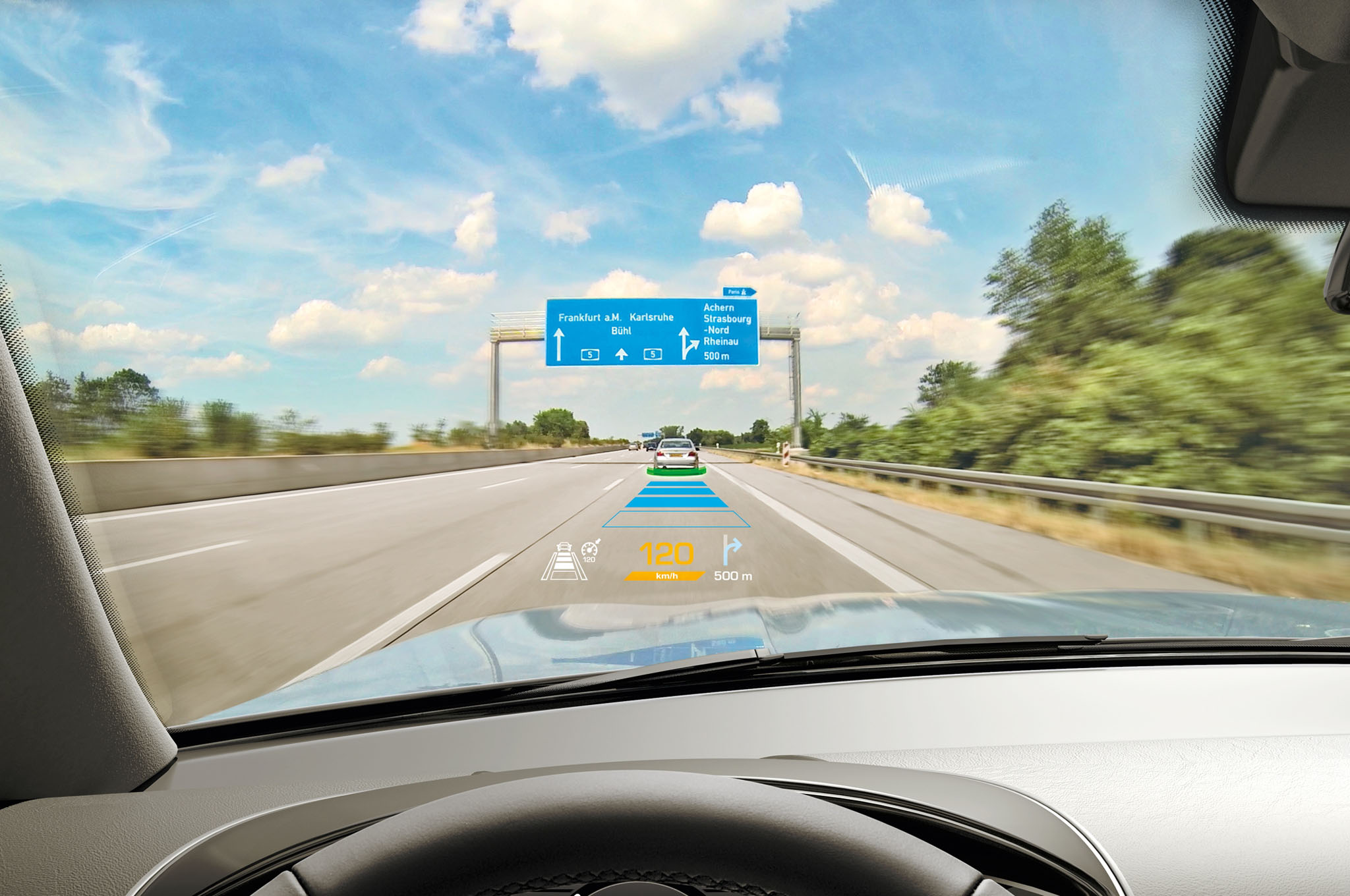 Continental Shows off New Augmented Reality HUD Technology