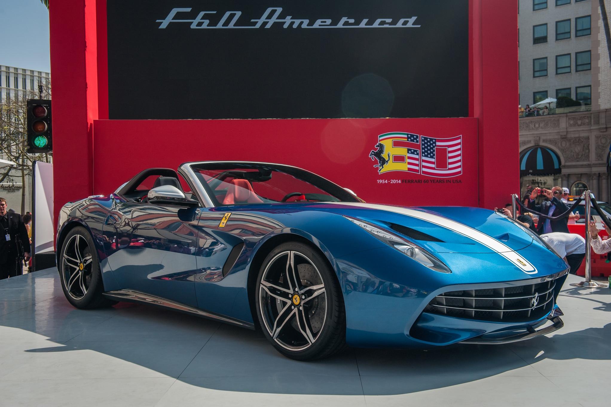 Ferrari Celebrates U.S. Anniversary With F60 America