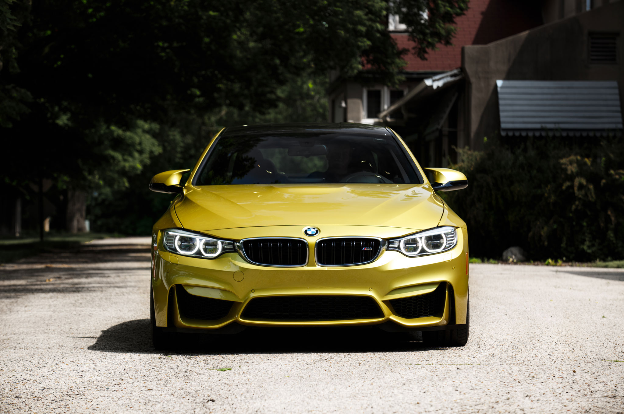 Miles In Wisconsin In A BMW M - Bmw 2014 m4