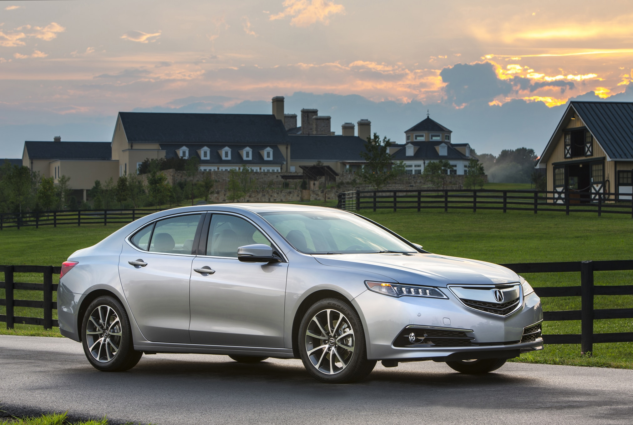 2015 acura tlx earns iihs top safety pick rating. Black Bedroom Furniture Sets. Home Design Ideas