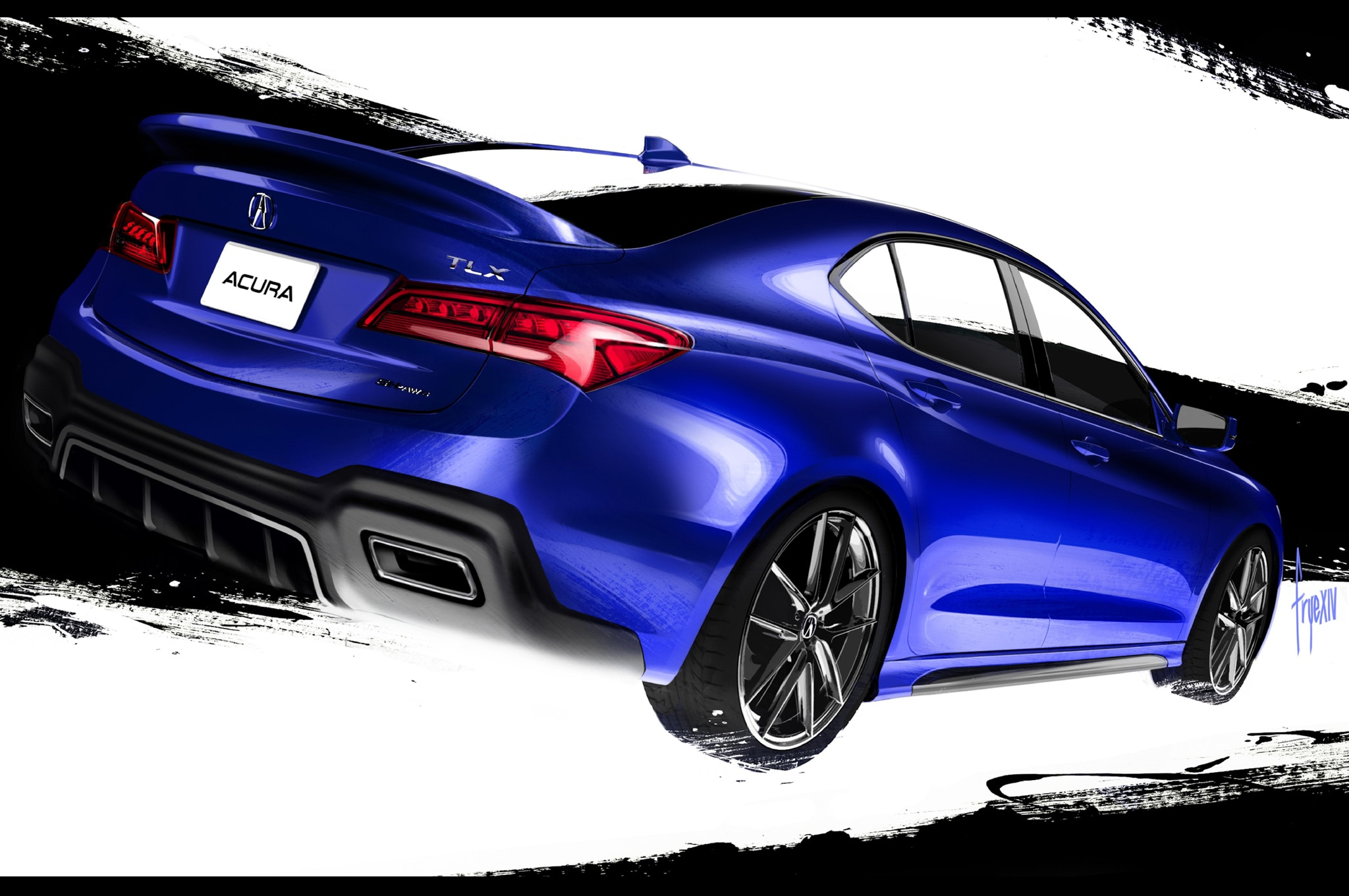 2015 acura tlx tuned by galpin heading to sema. Black Bedroom Furniture Sets. Home Design Ideas