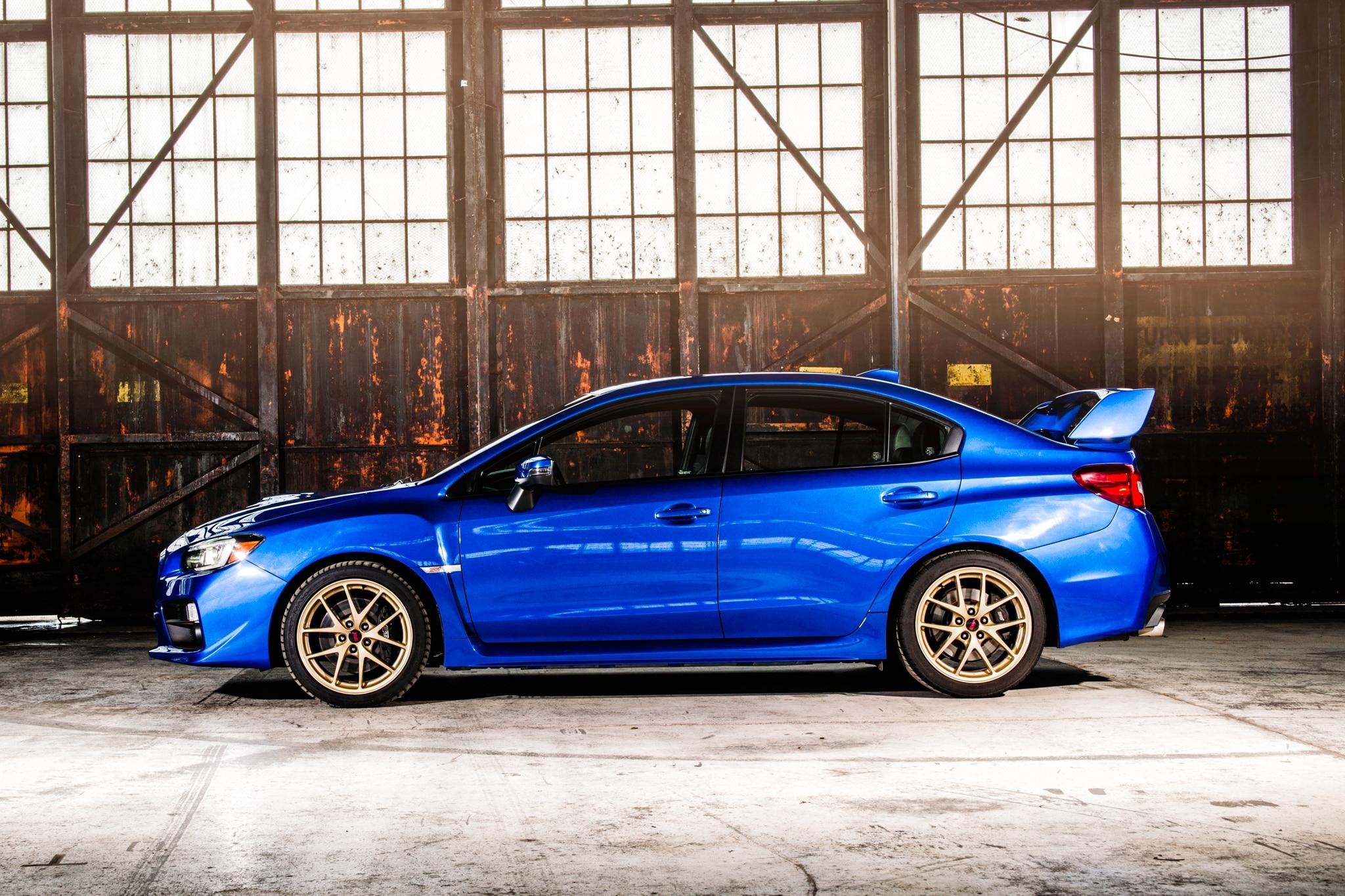 subaru wrx/wrx sti: 2015 automobile all-star   automobile magazine