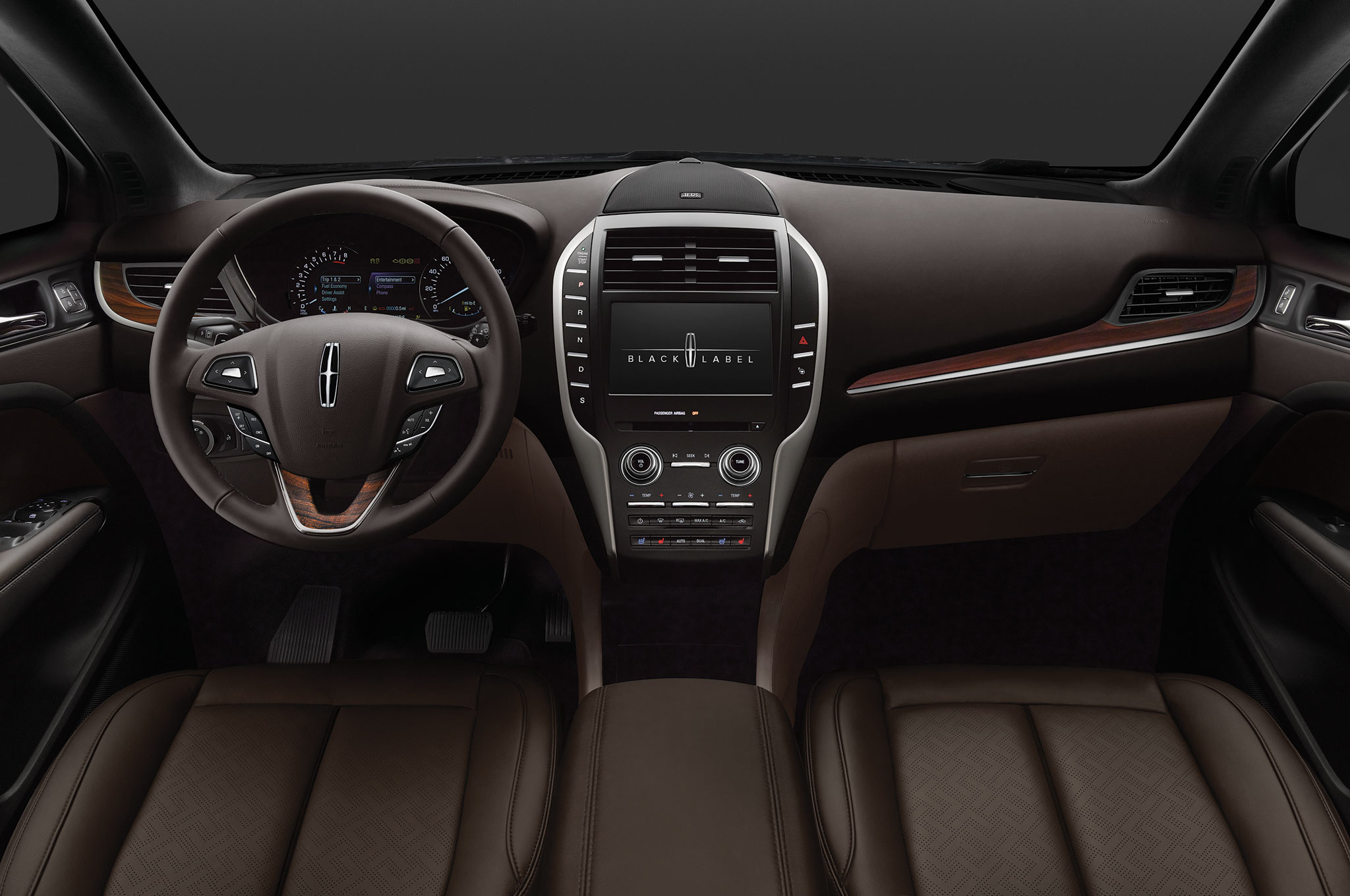 Lincoln launches black label at los angeles auto show for 2015 lincoln continental interior