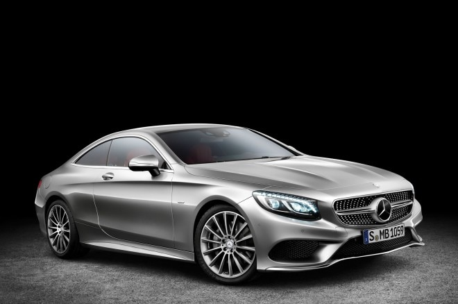 2015 Mercedes Benz S Class Coupe Front Three Quarter View 660x438