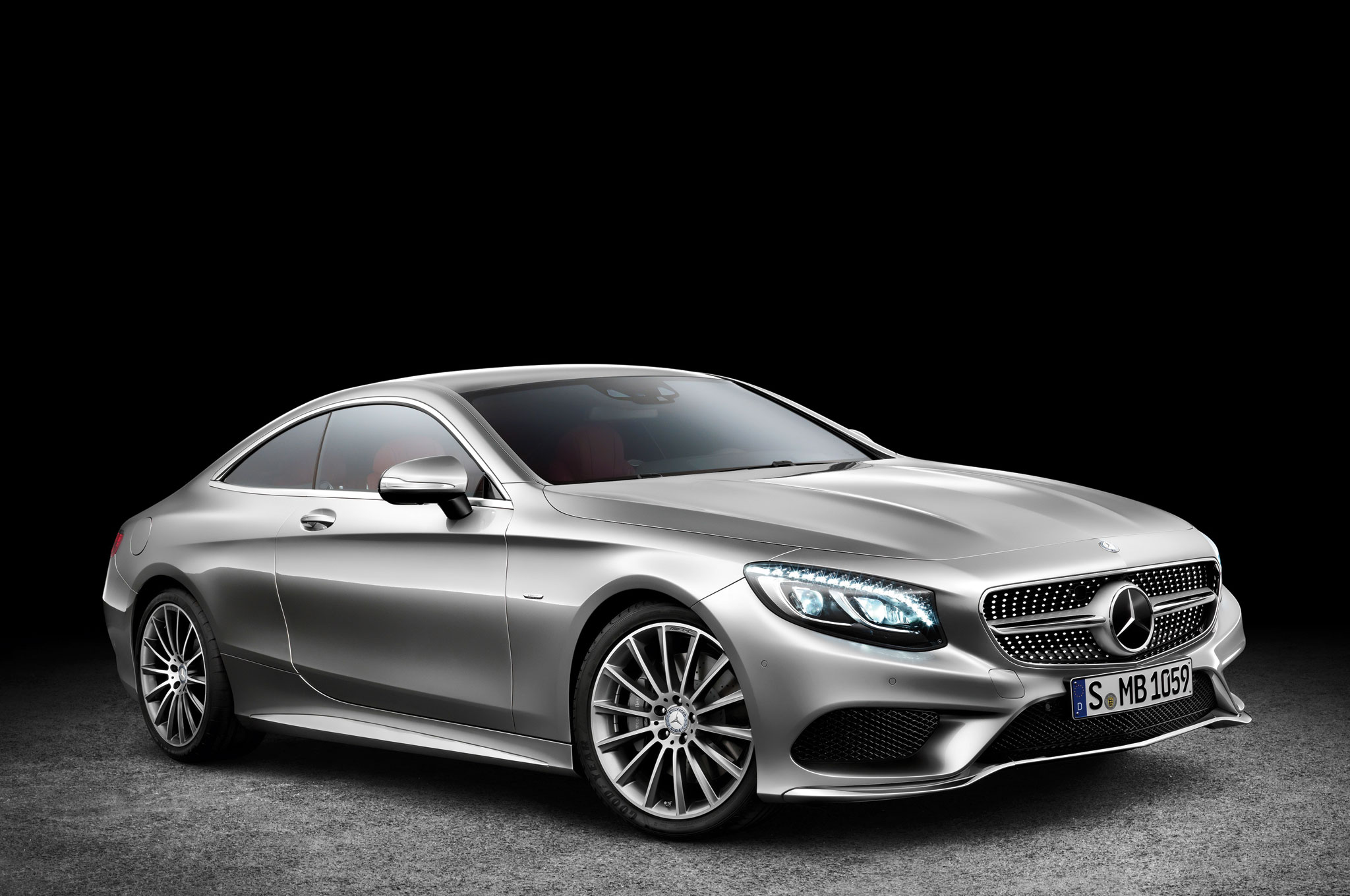 2015 Mercedes Benz S Class Coupe Front Three Quarter View