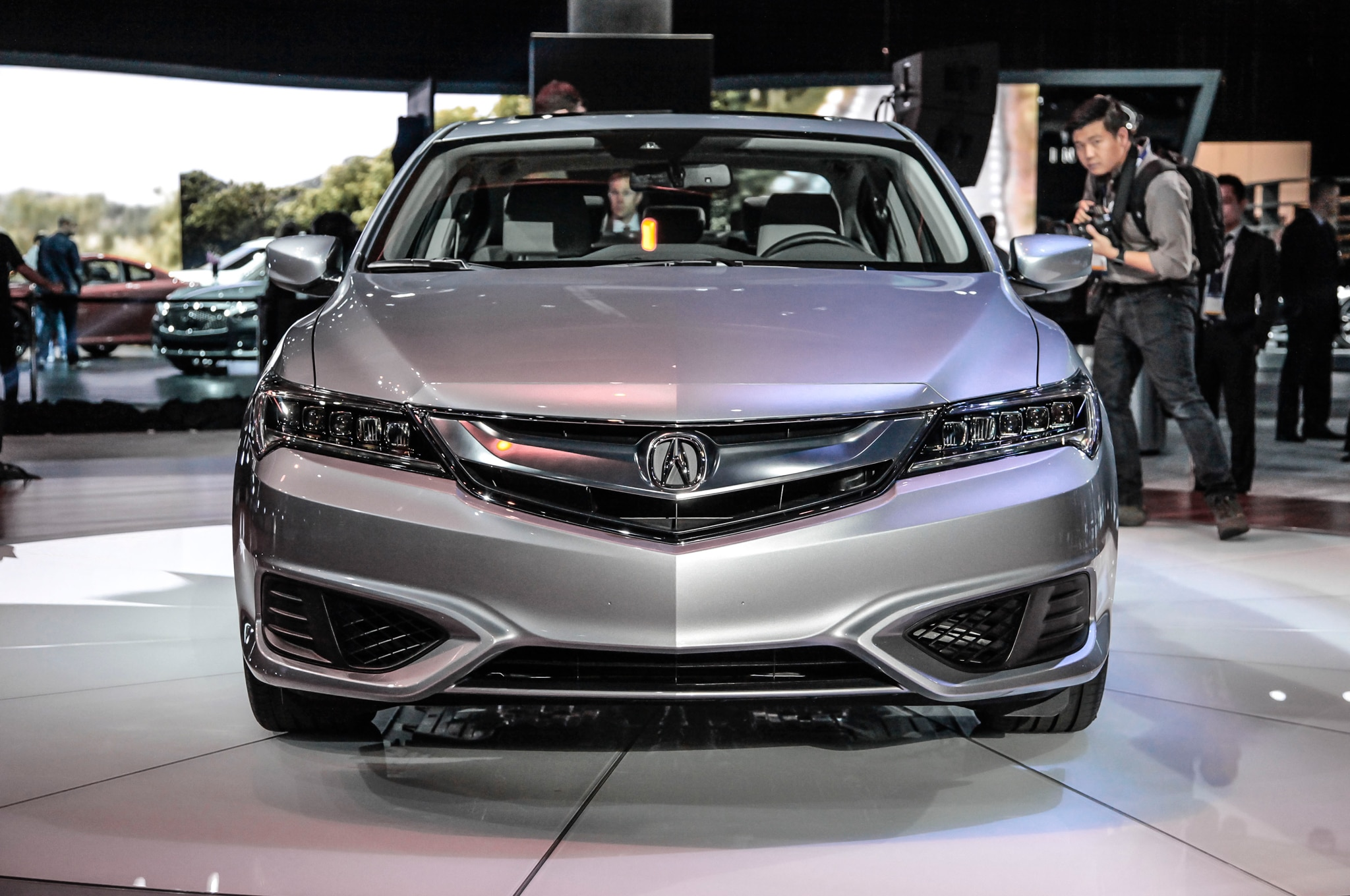 2016 Acura ILX Refreshed At Los Angeles Auto Show