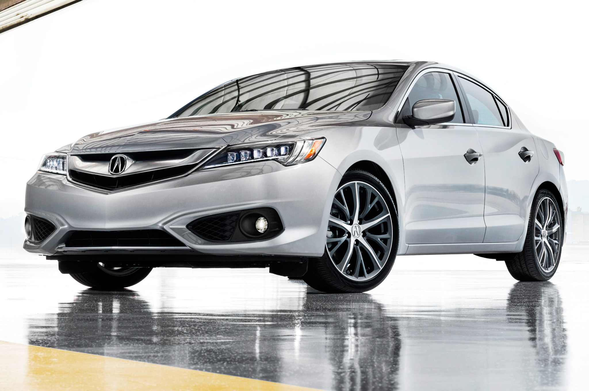 2016 acura ilx refreshed at los angeles auto show. Black Bedroom Furniture Sets. Home Design Ideas