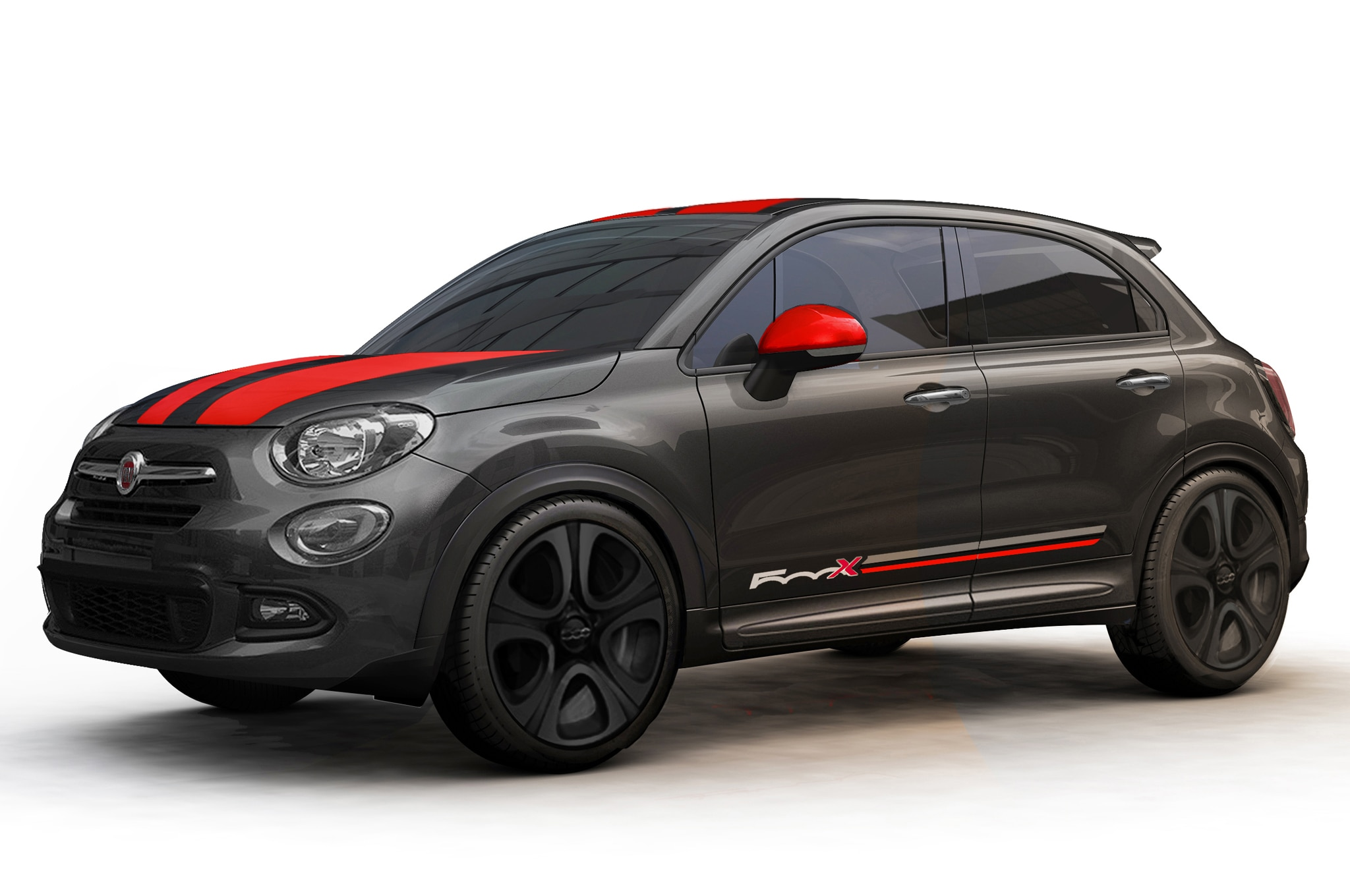 mopar ize the 2016 fiat 500x with special accessories. Black Bedroom Furniture Sets. Home Design Ideas