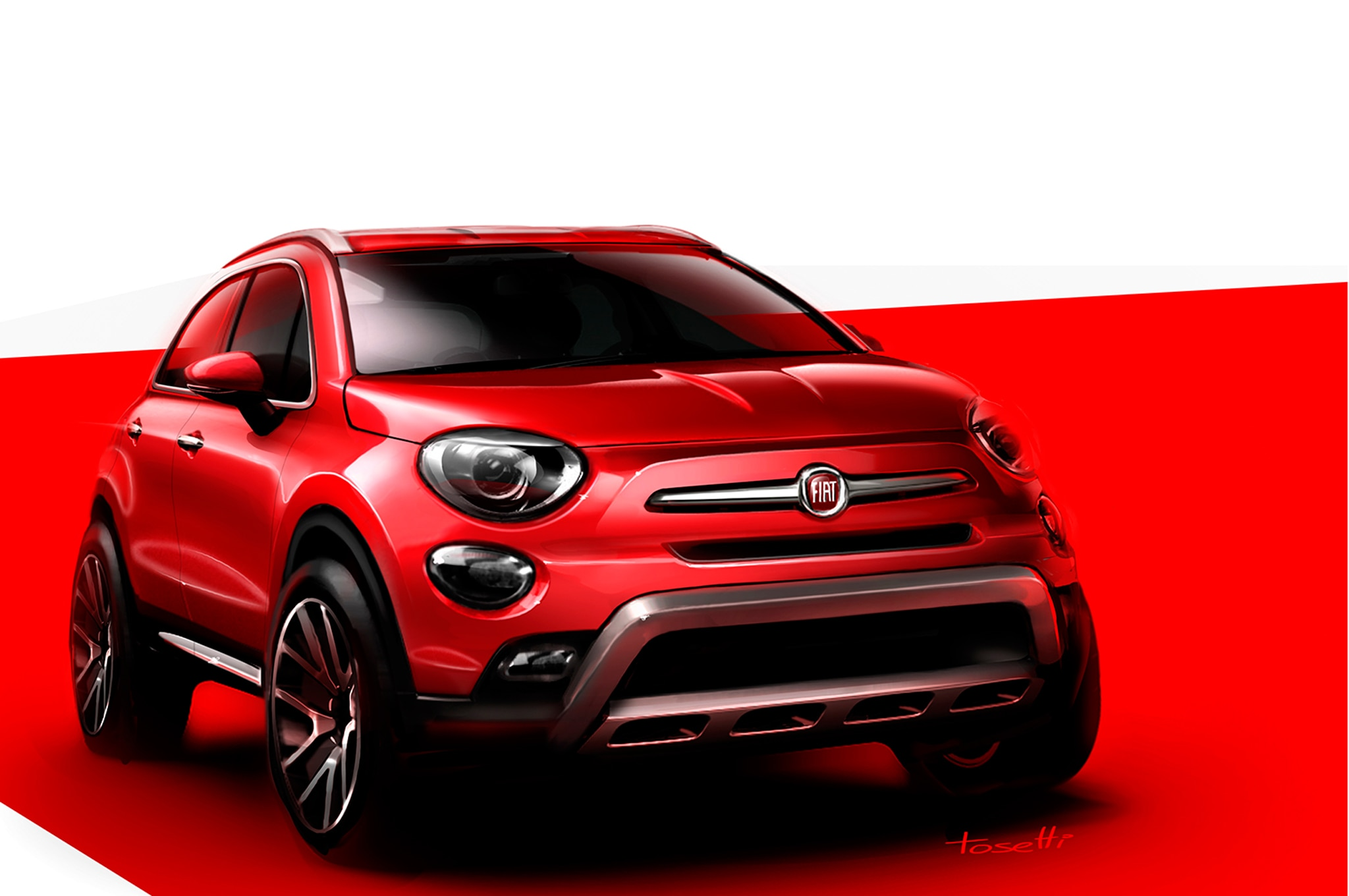 2016 fiat 500x makes u s premiere at los angeles auto show. Black Bedroom Furniture Sets. Home Design Ideas