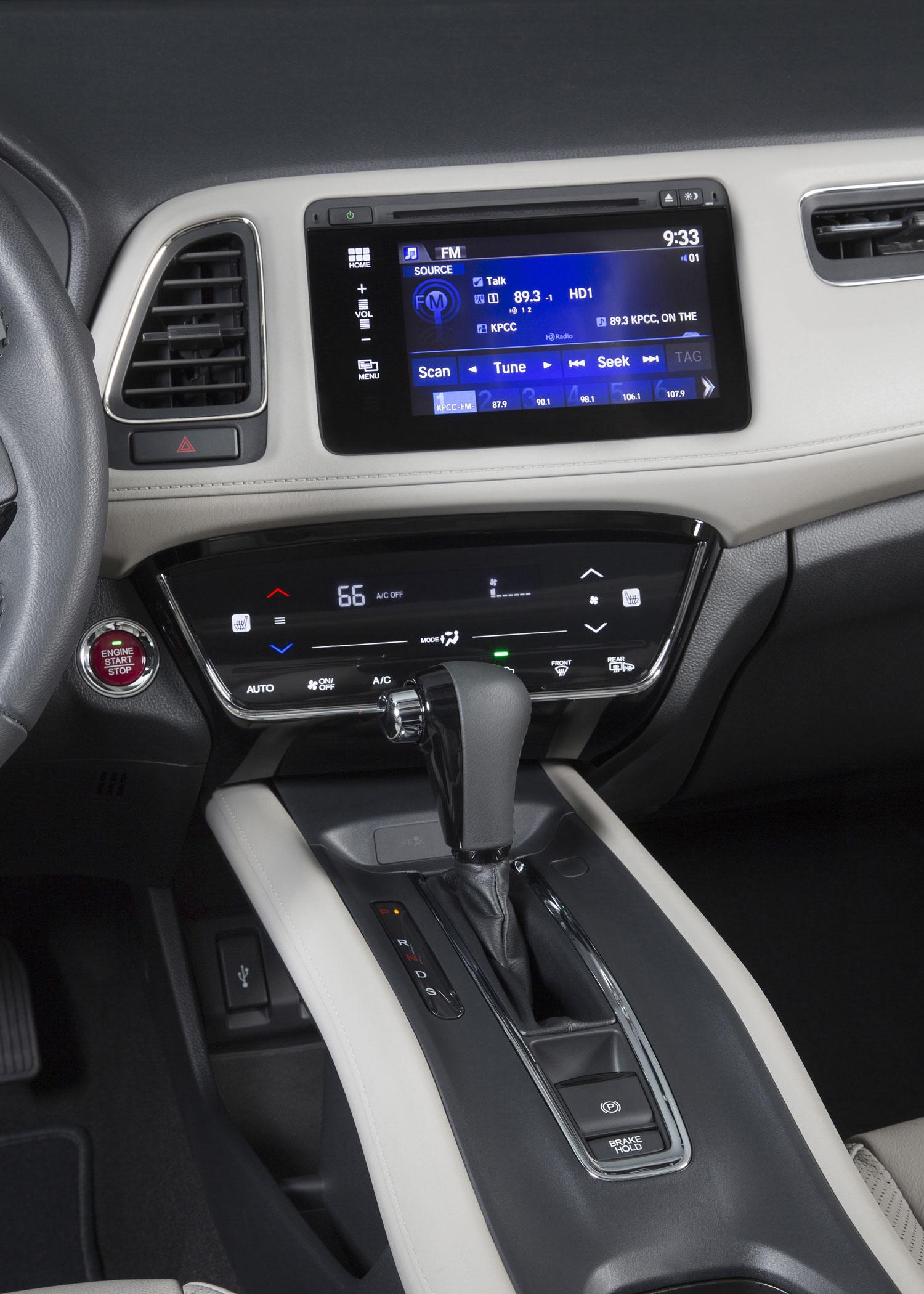 2016 Honda HR V Center Stack And Shifter