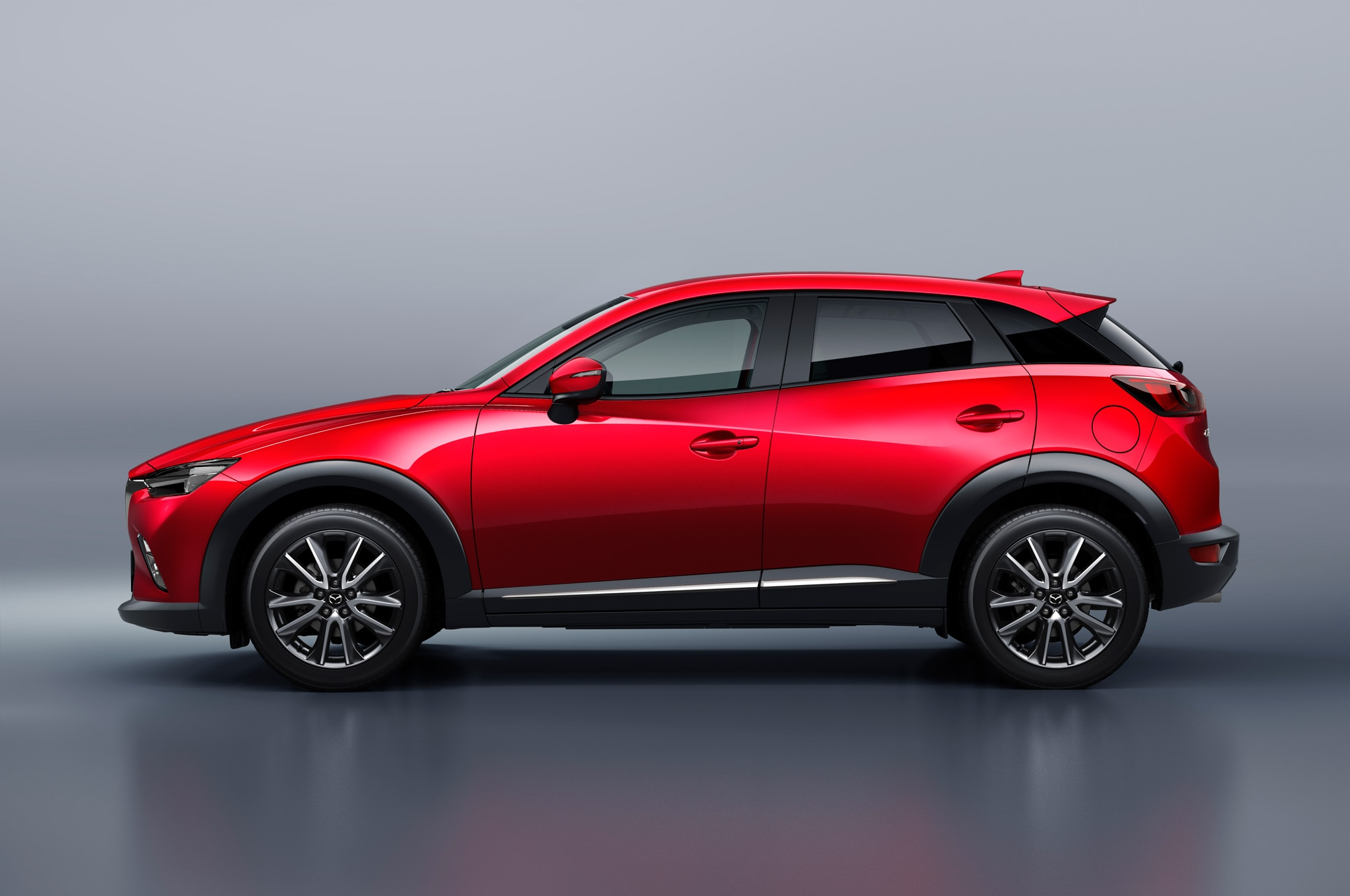 2016 mazda cx 3 crossover arrives at l a auto show. Black Bedroom Furniture Sets. Home Design Ideas