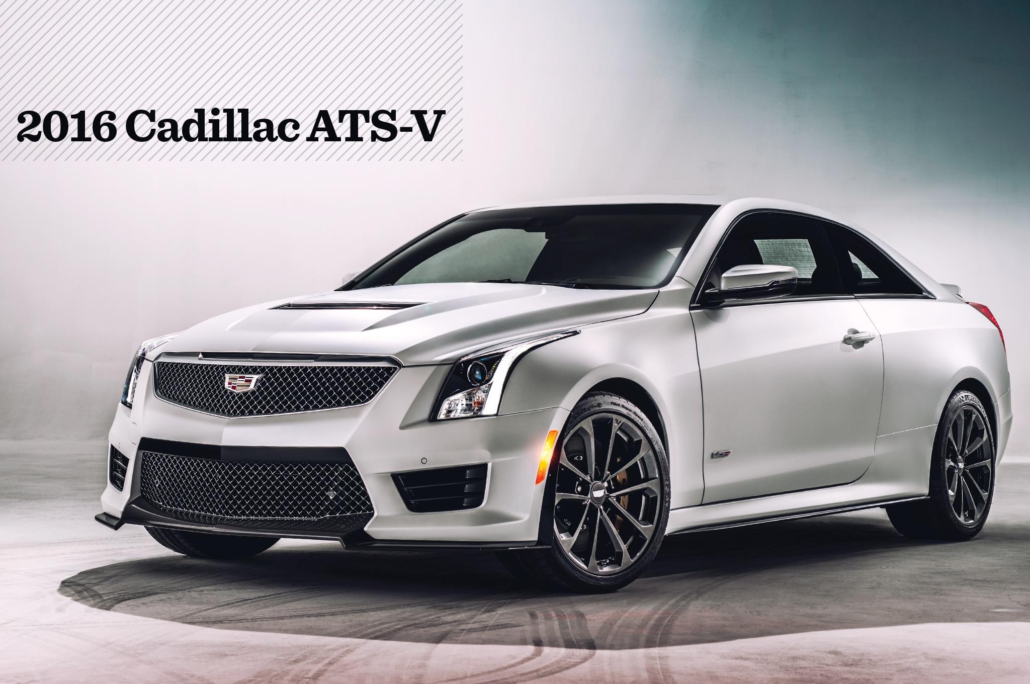 2016 Cadillac ATS V Outmuscling the M3