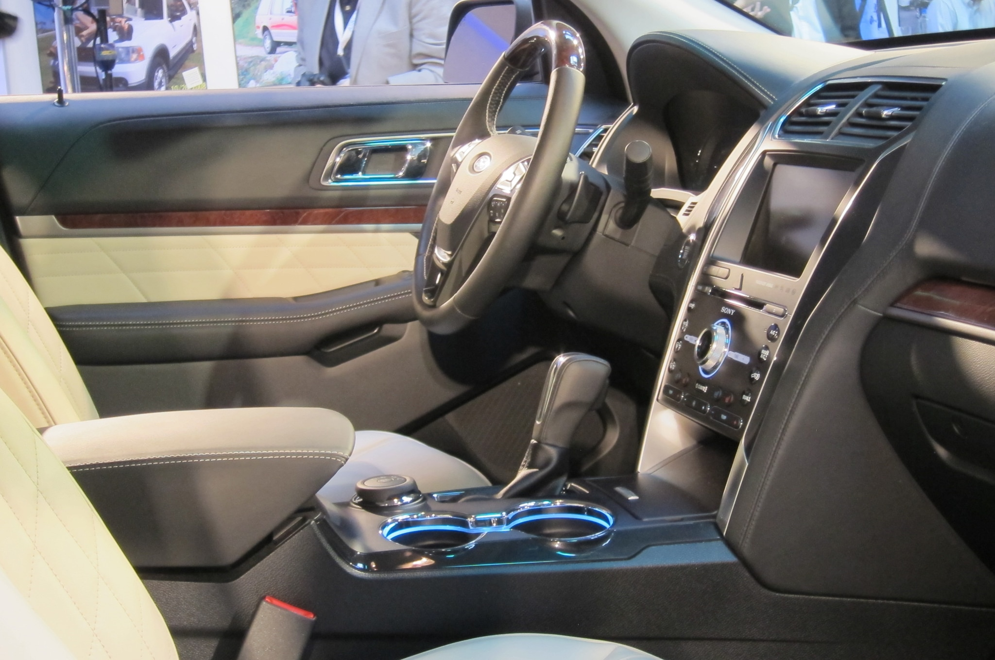 nevertheless the interior of the 2016 ford explorer platinum