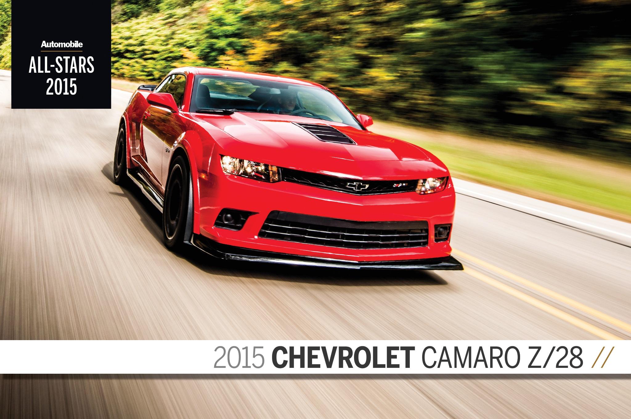 All Stars 2015 Chevrolet Camaro Z28 Final