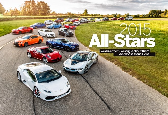 2015 AUTOMOBILE All-Stars