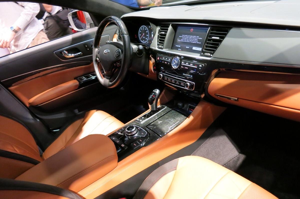 2018 kia k900 interior. beautiful k900 imaginatively called the high performance kia k900  intended 2018 kia k900 interior
