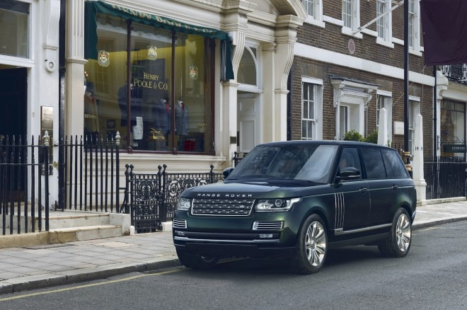 Land Rover Range Rover Black Holland And Holland Edition Front Three Quarter 660x438