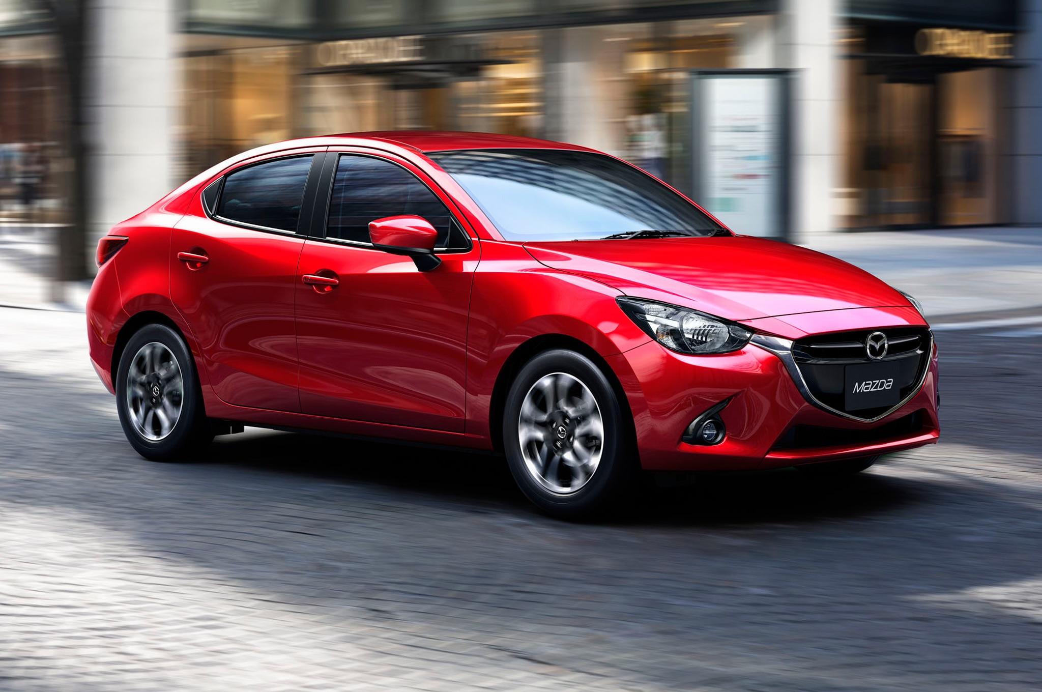 Mazda 2 Sedan Debuts In Thailand