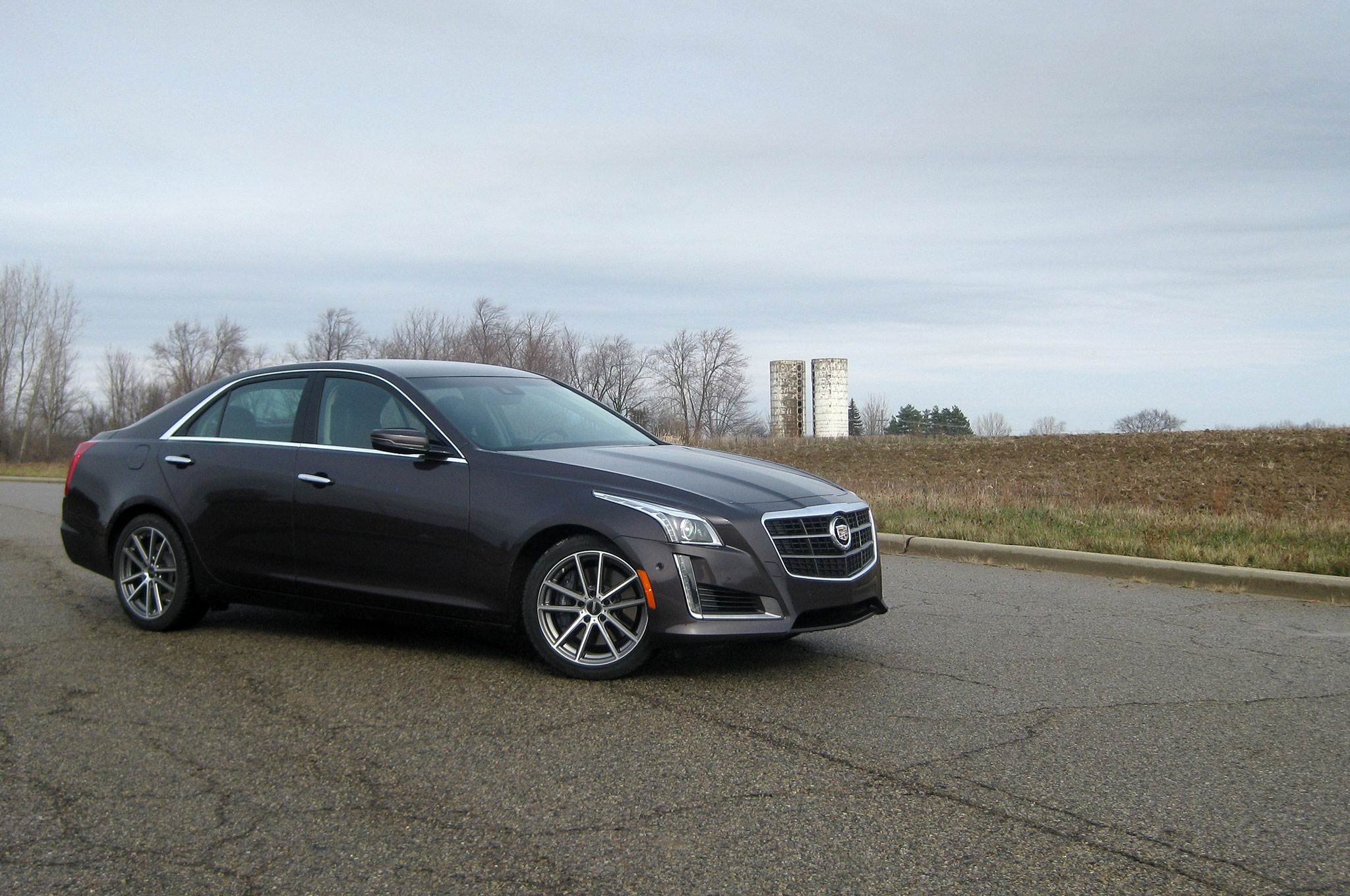 2014 cadillac cts vsport ready for winter. Black Bedroom Furniture Sets. Home Design Ideas