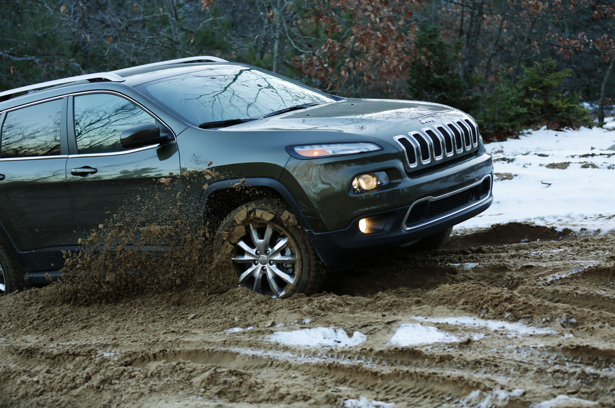 2014 jeep cherokee limited running up that hill. Black Bedroom Furniture Sets. Home Design Ideas