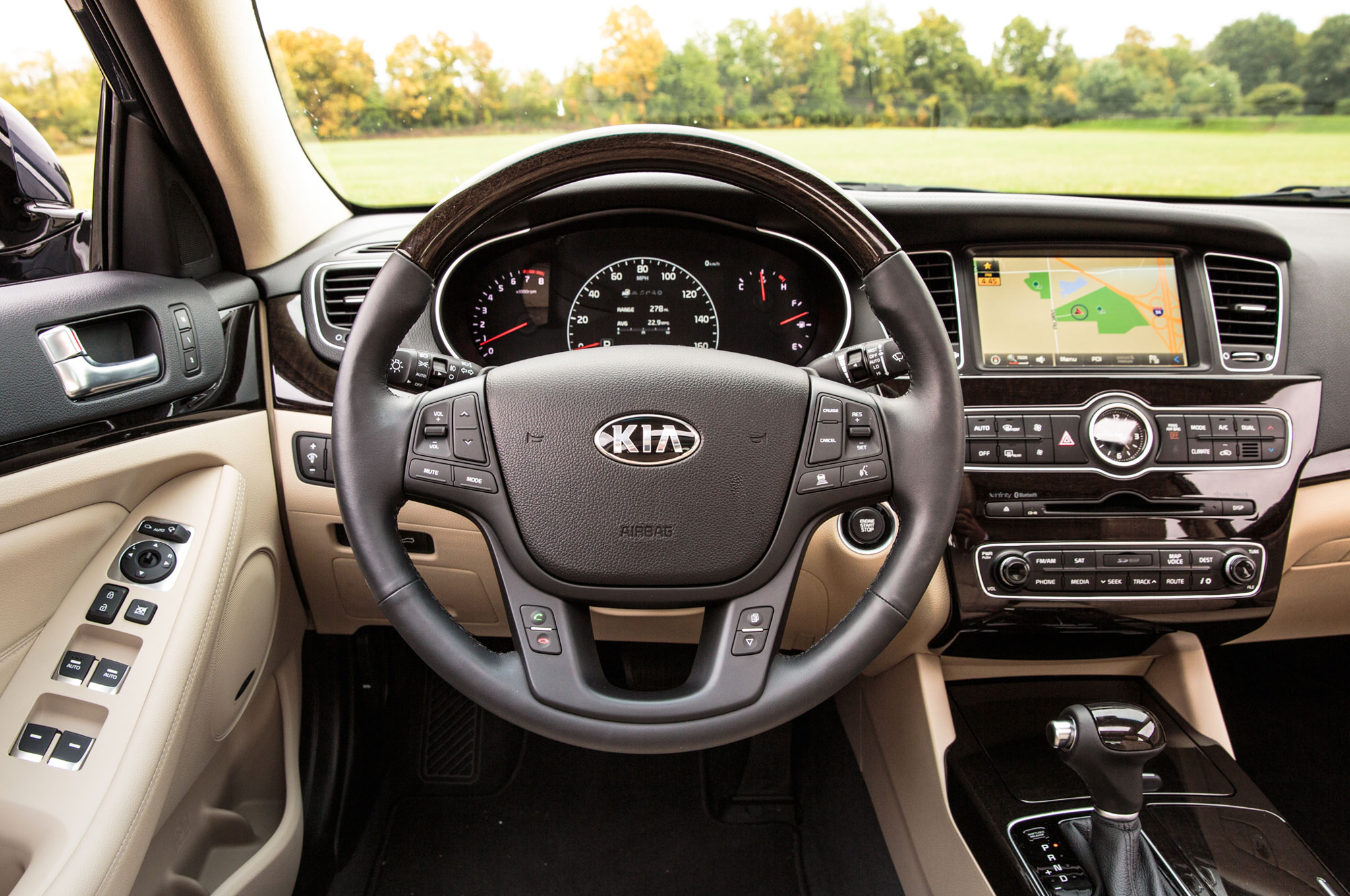 kia information database cars cadenza auto and com specs pictures