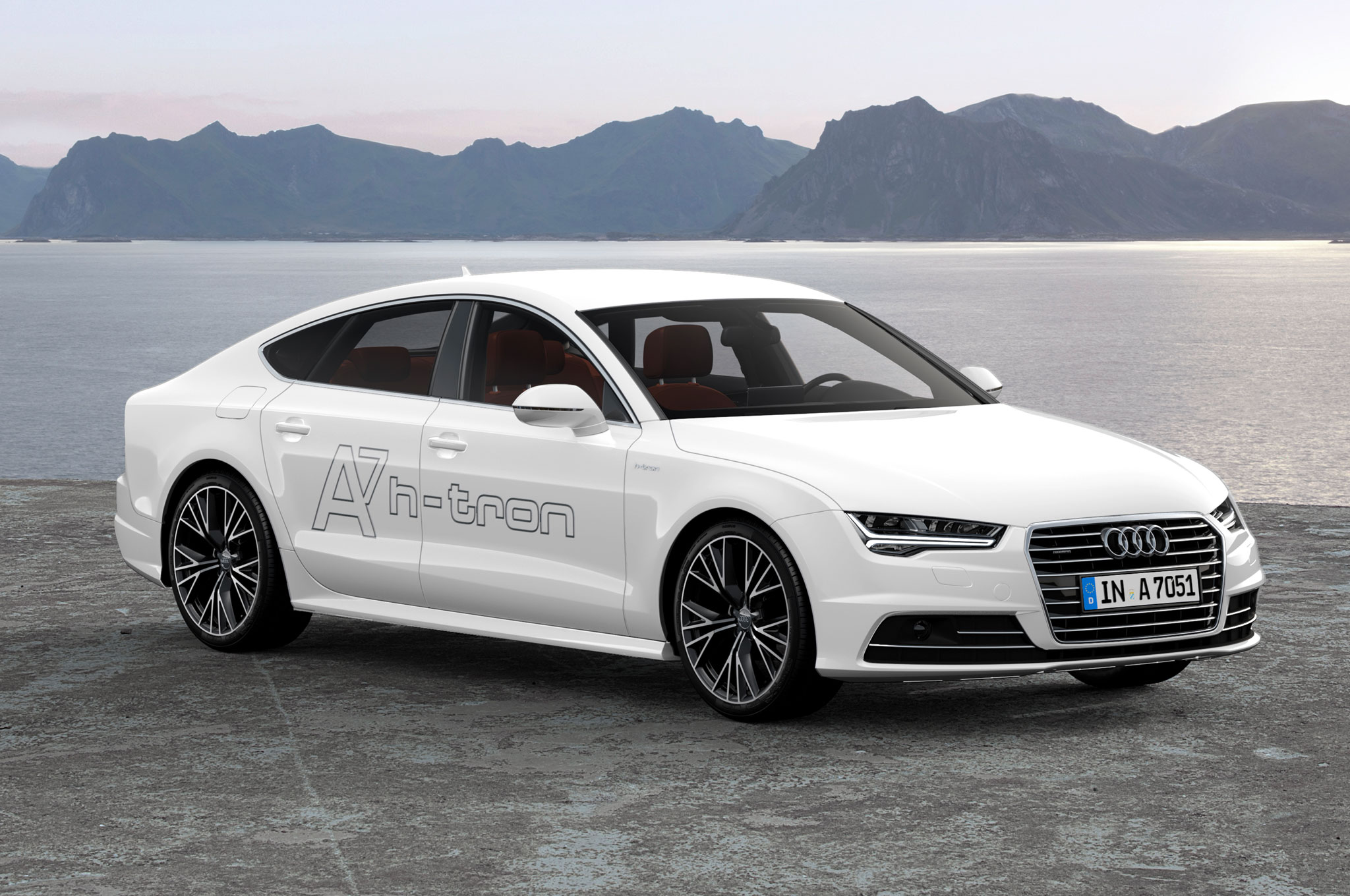 audi a7 sportback h tron quattro concept review. Black Bedroom Furniture Sets. Home Design Ideas