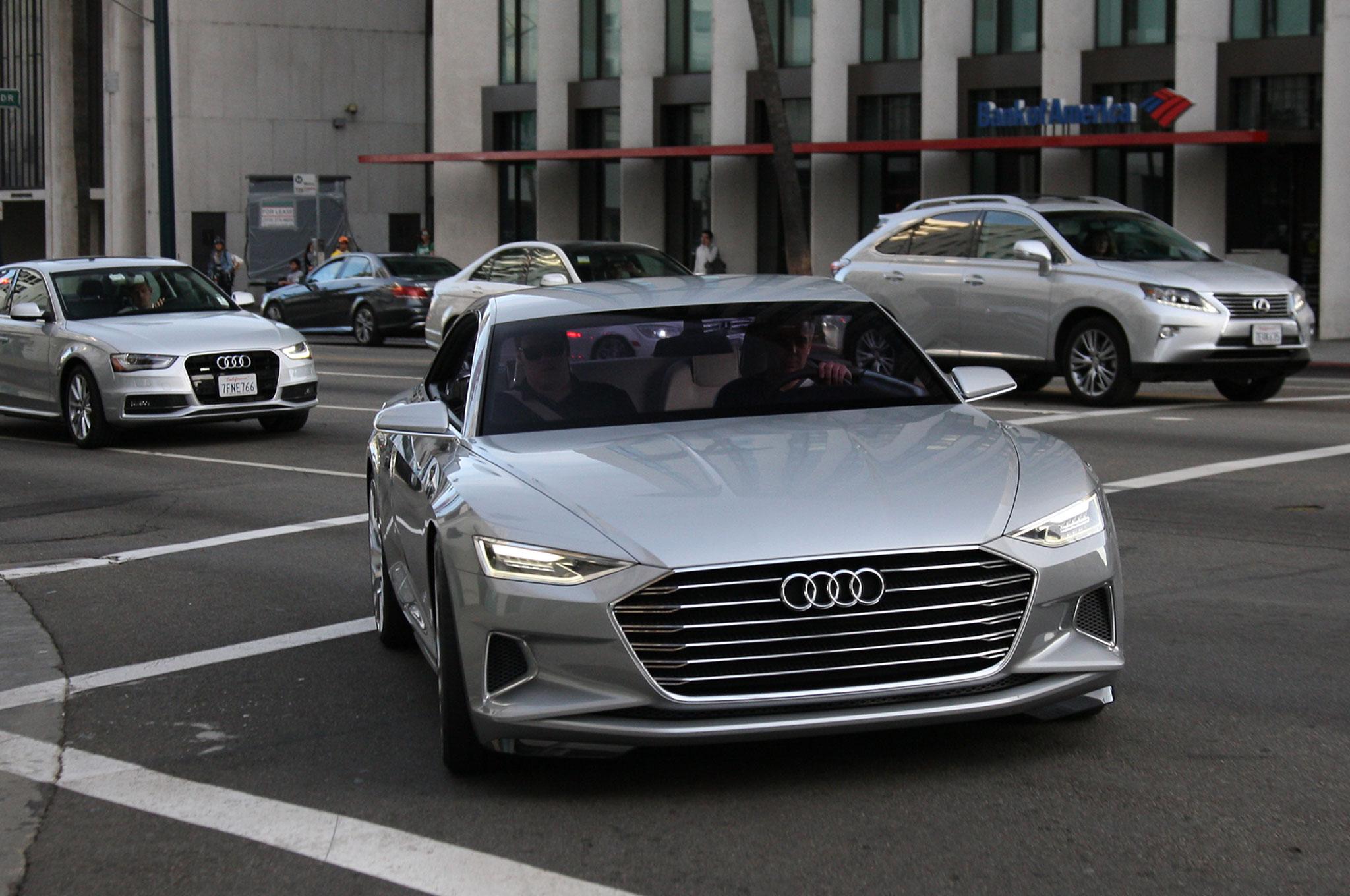 Audi Prologue Concept Front View 2
