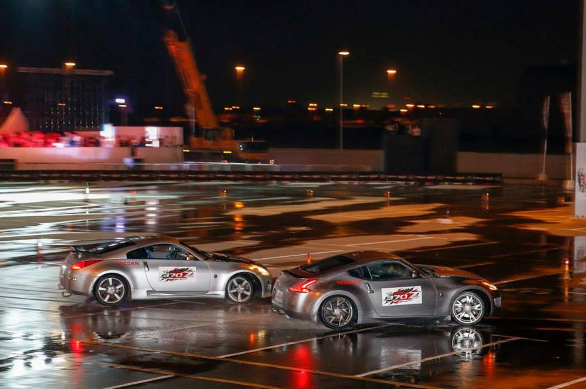 Nissan Z Cars Set Longest Twin Drifting Record In Dubai