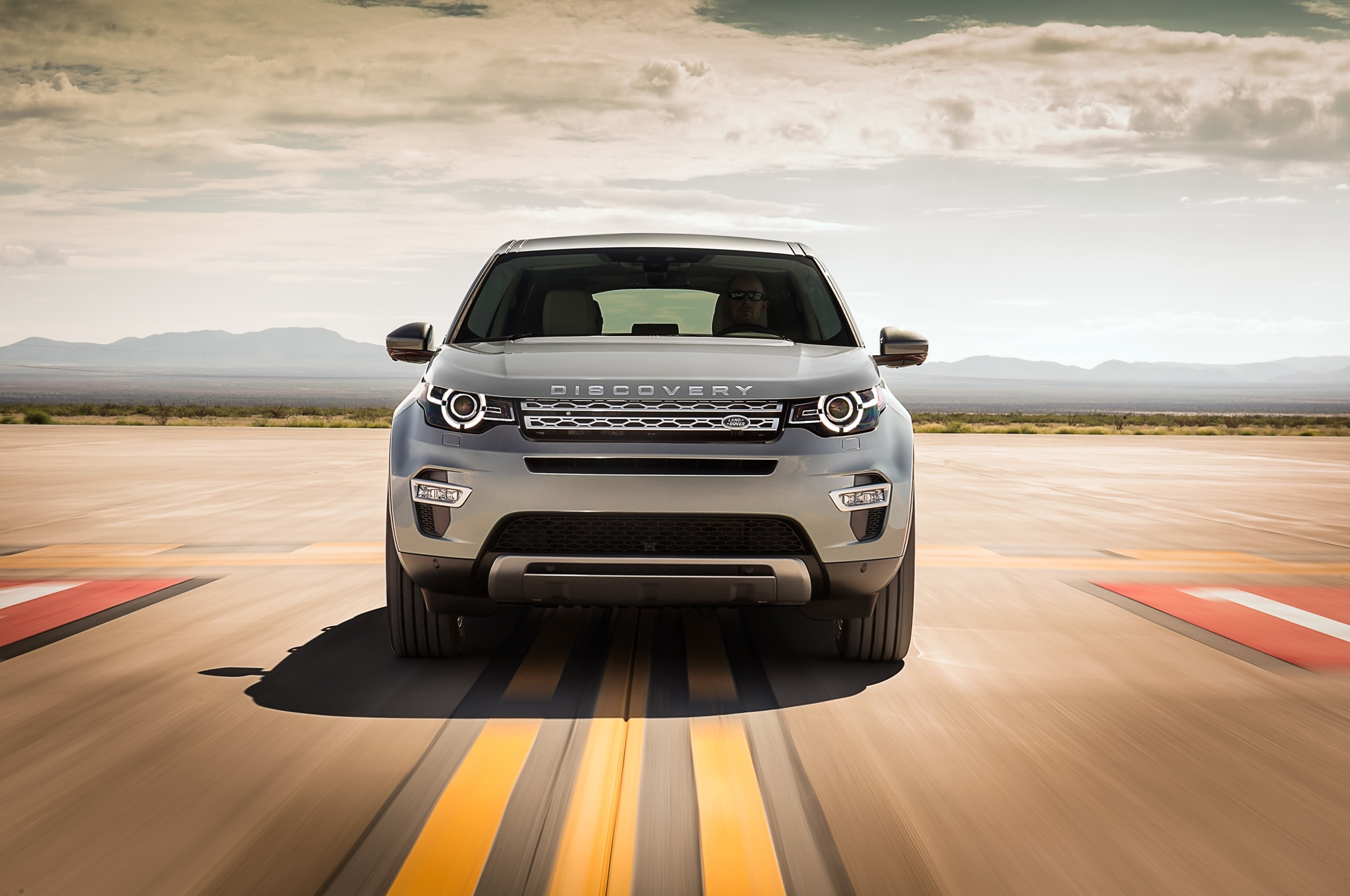 2015 Land Rover Discovery Sport front end in motion1 2015 land rover discovery sport review LR3 Front Bumper at soozxer.org