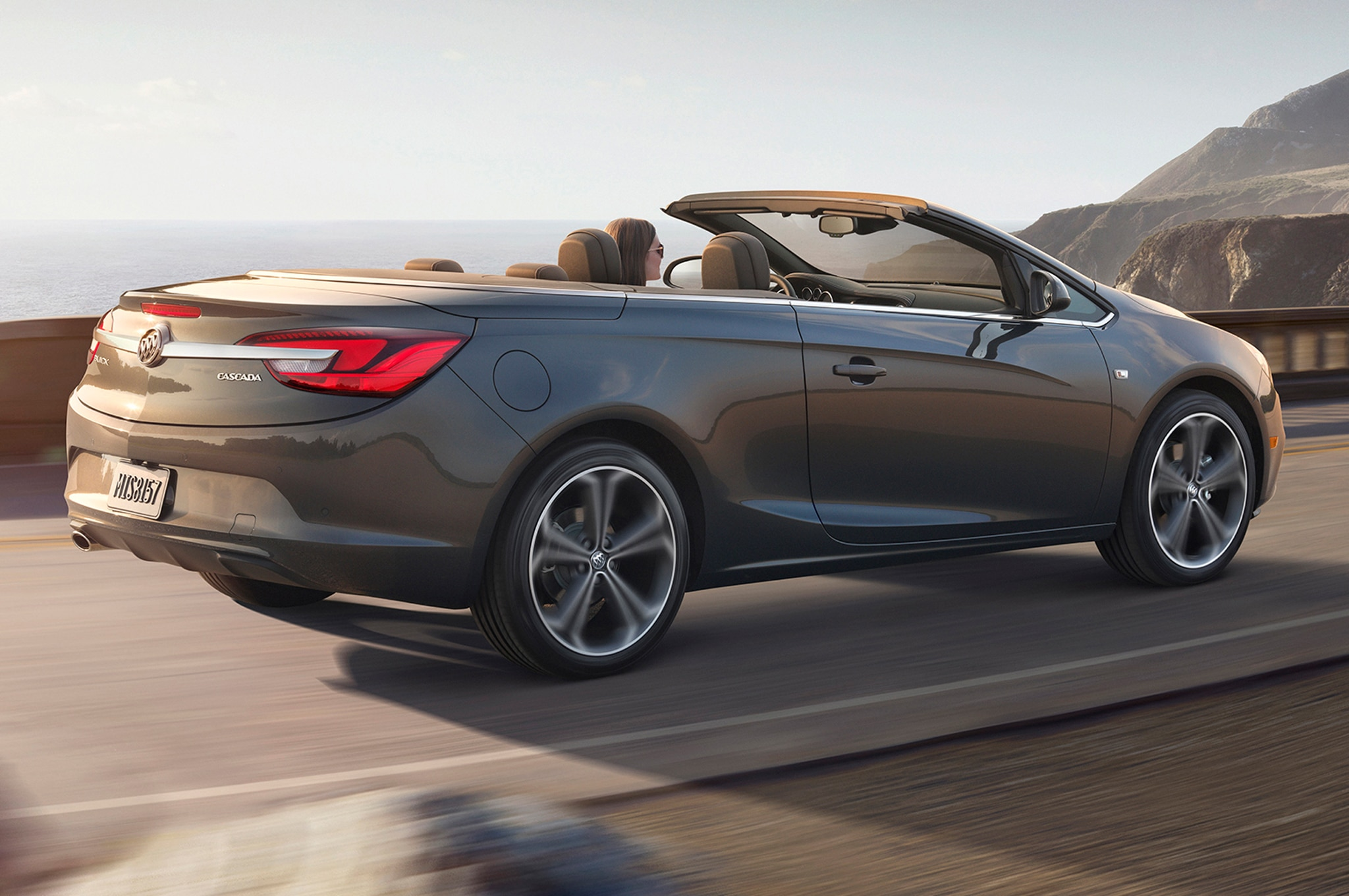 2016 buick cascada convertible revealed at detroit auto show. Black Bedroom Furniture Sets. Home Design Ideas
