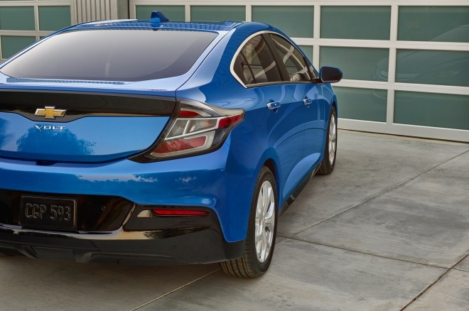 2016 Chevrolet Volt rear view