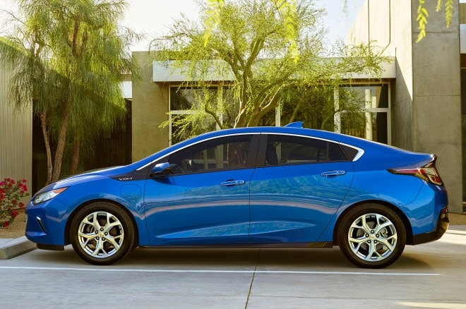2016 Chevrolet Volt side view