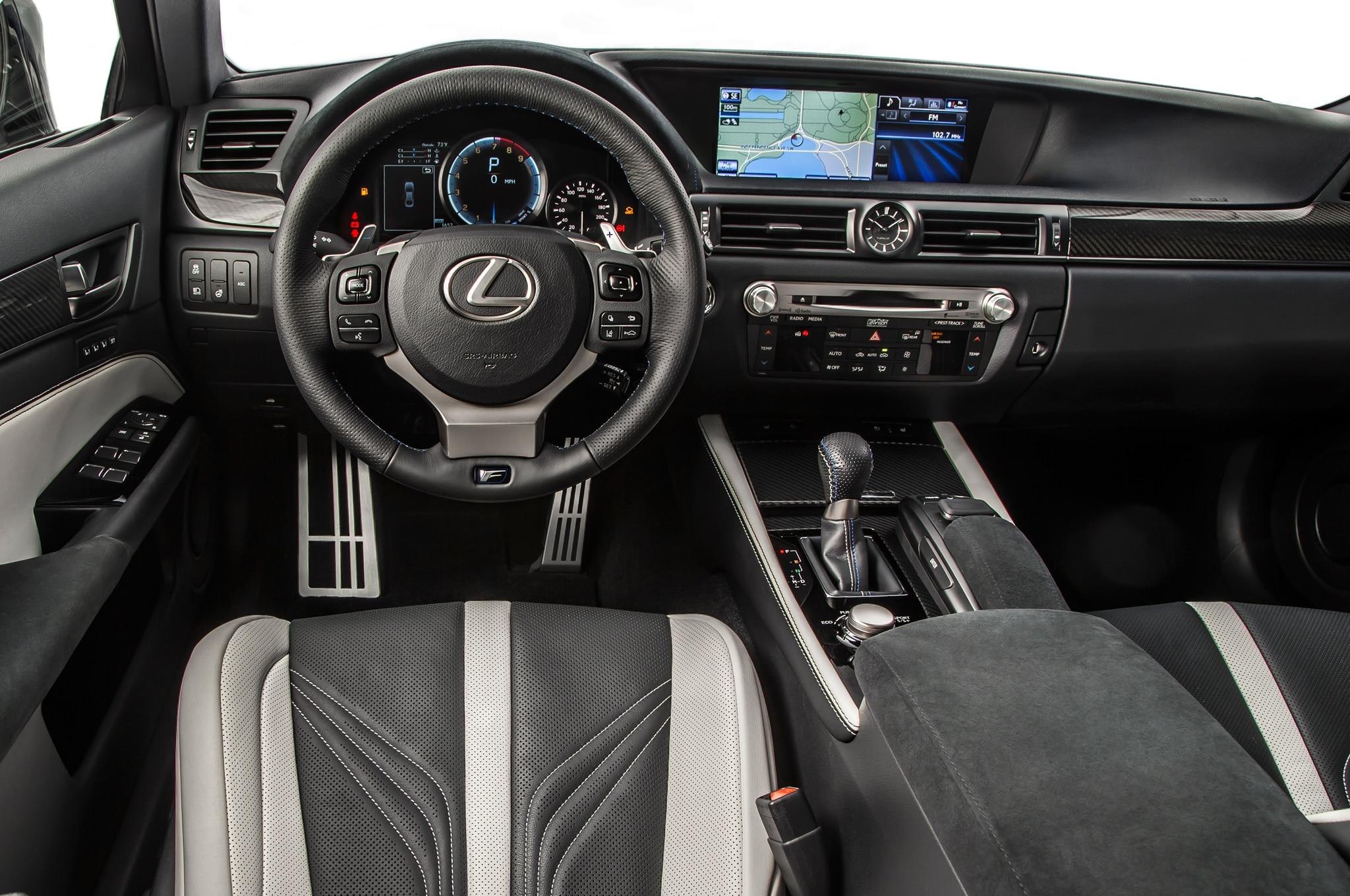 Image Gallery Lexus Gs F Interior