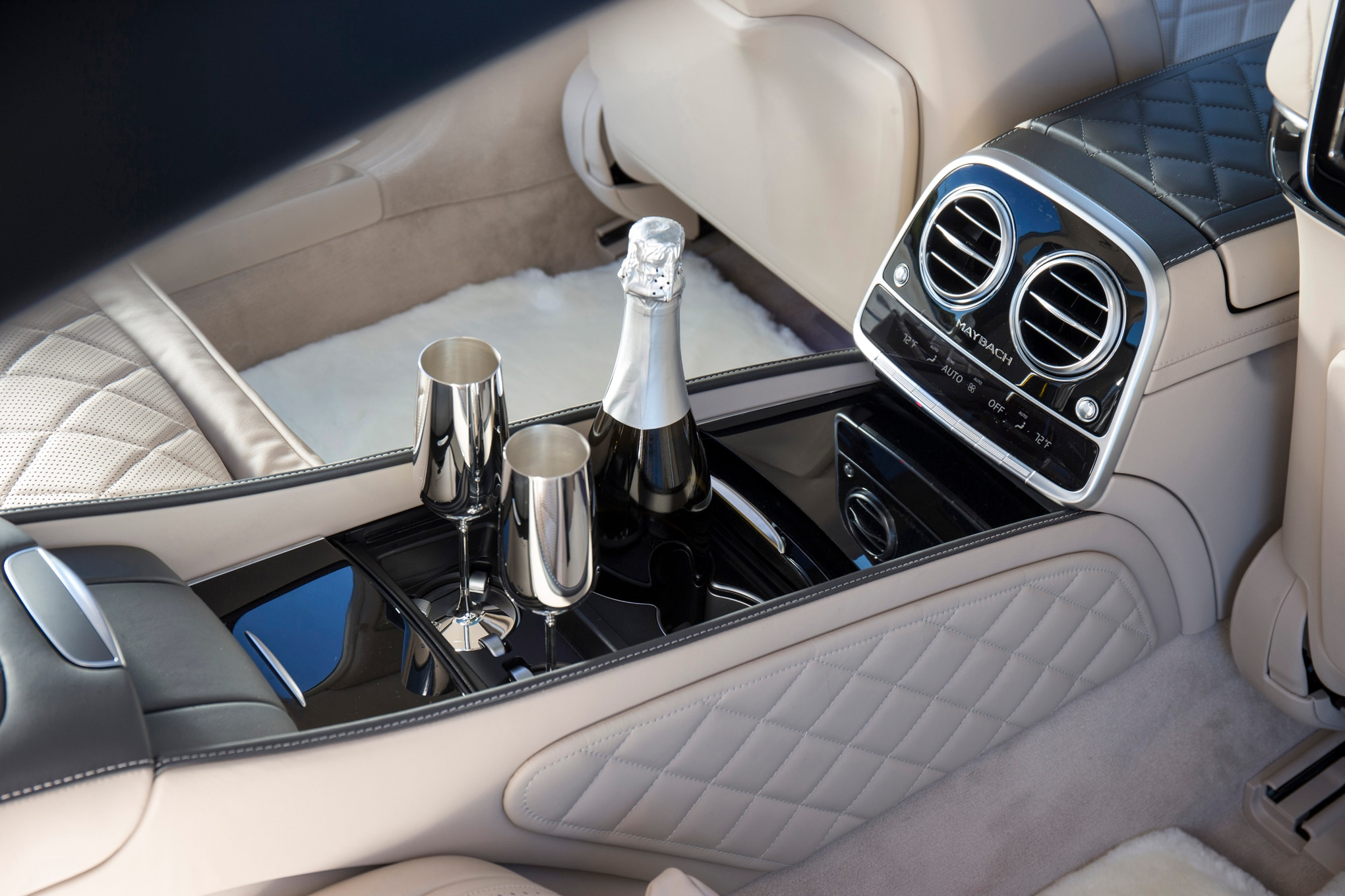 there - Mercedes Maybach Interior